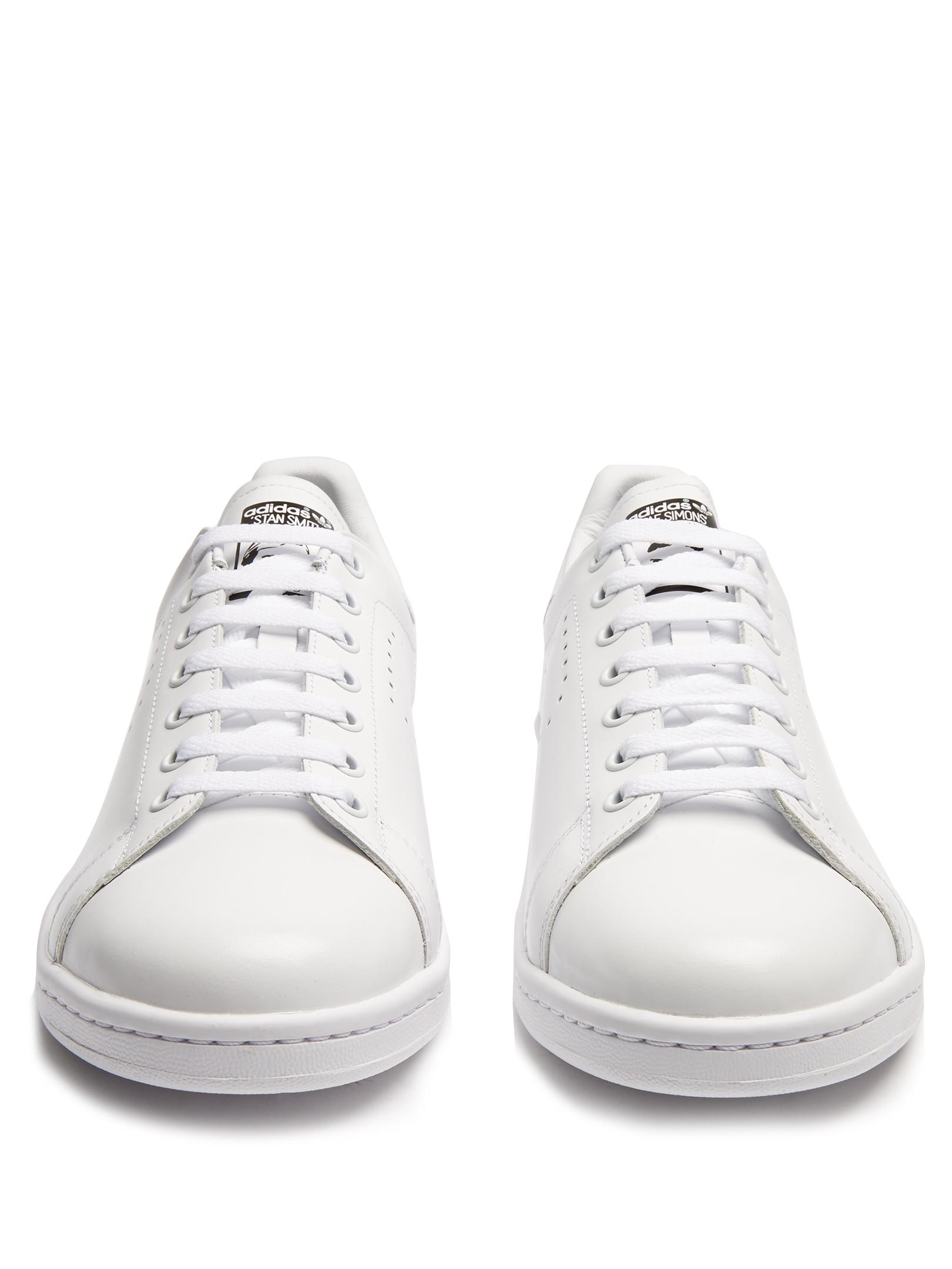 adidas By Raf Simons Stan Smith Low-top Leather Trainers in White for Men