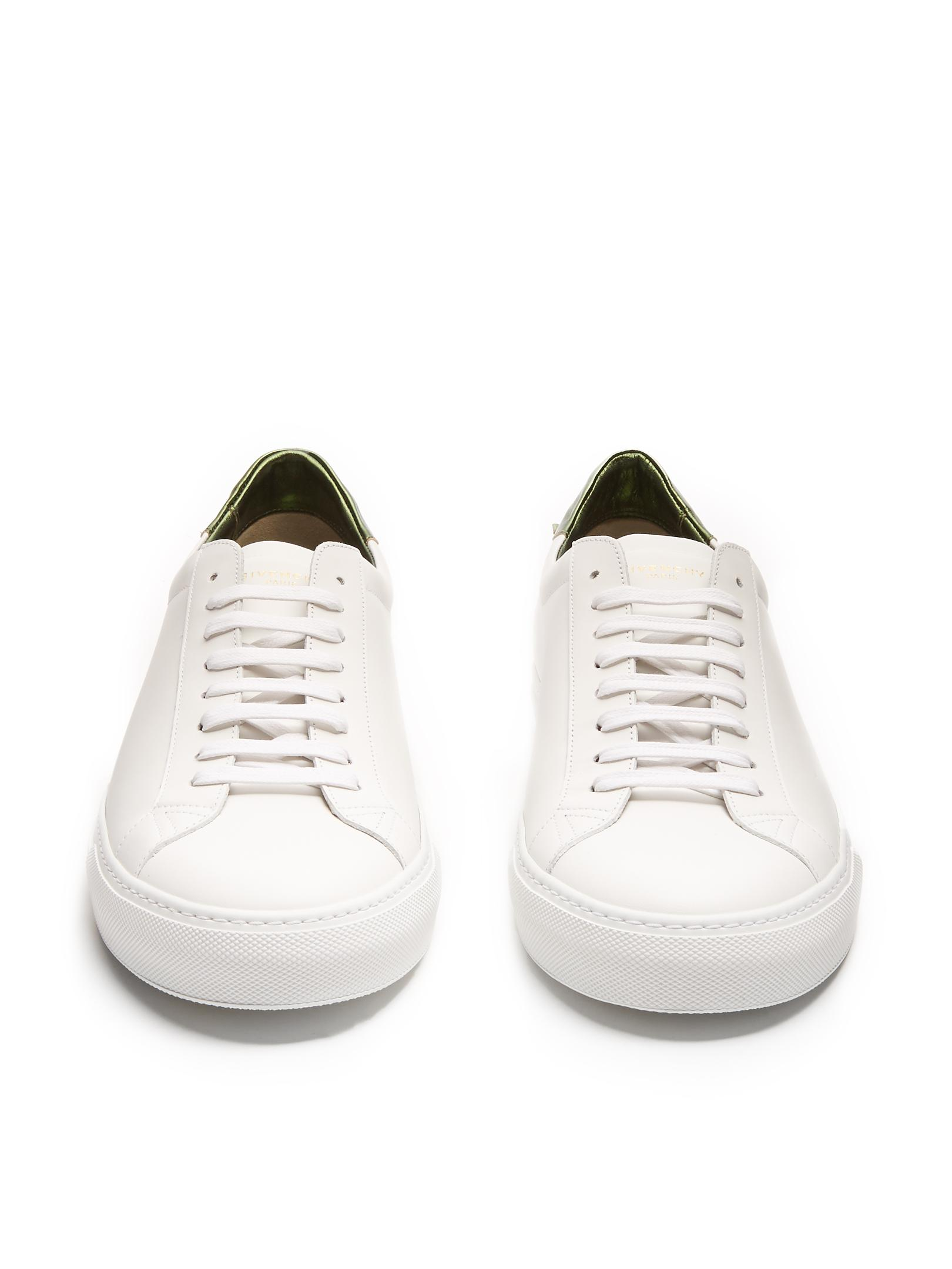 Givenchy Urban Street Low-top Leather Trainers in White for Men