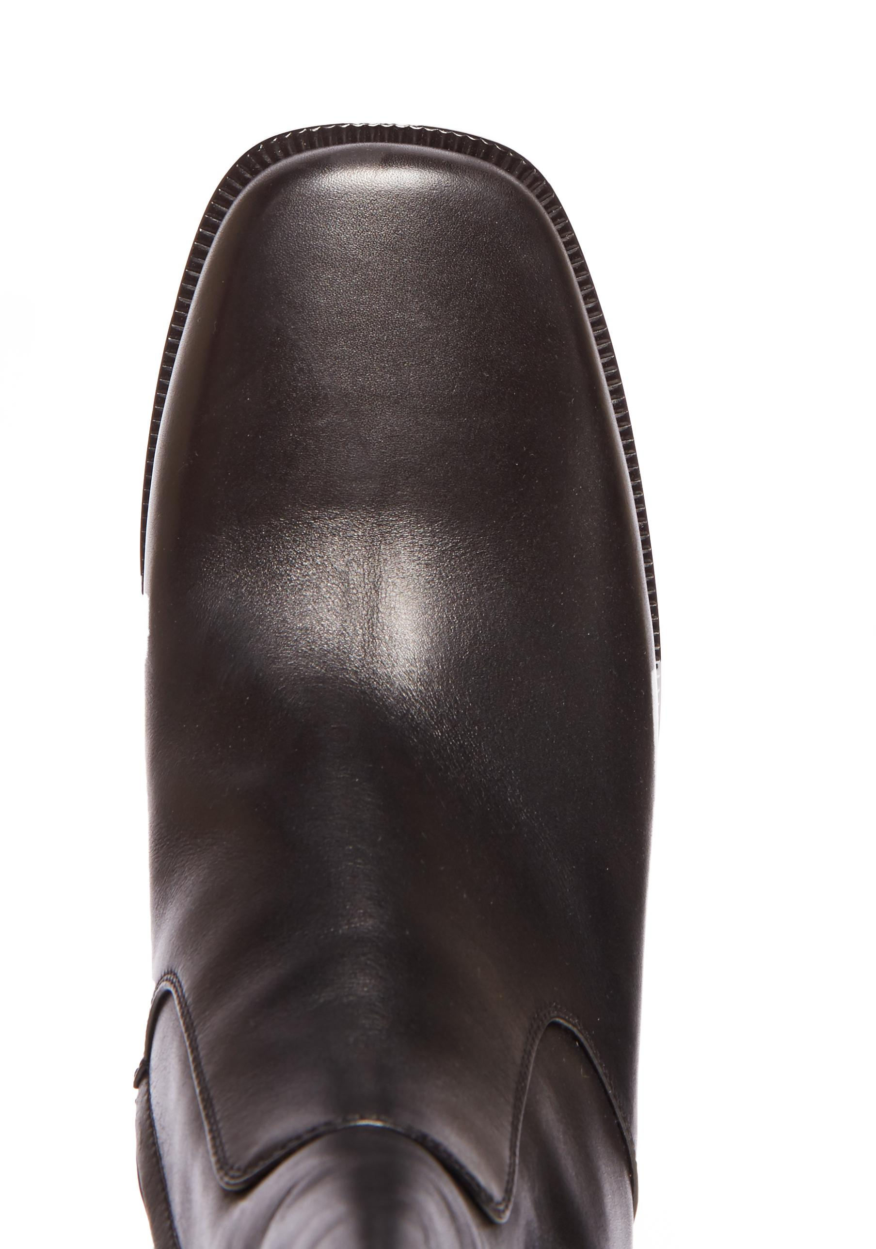 Lyst Balenciaga Leather Platform Boots In Black For Men