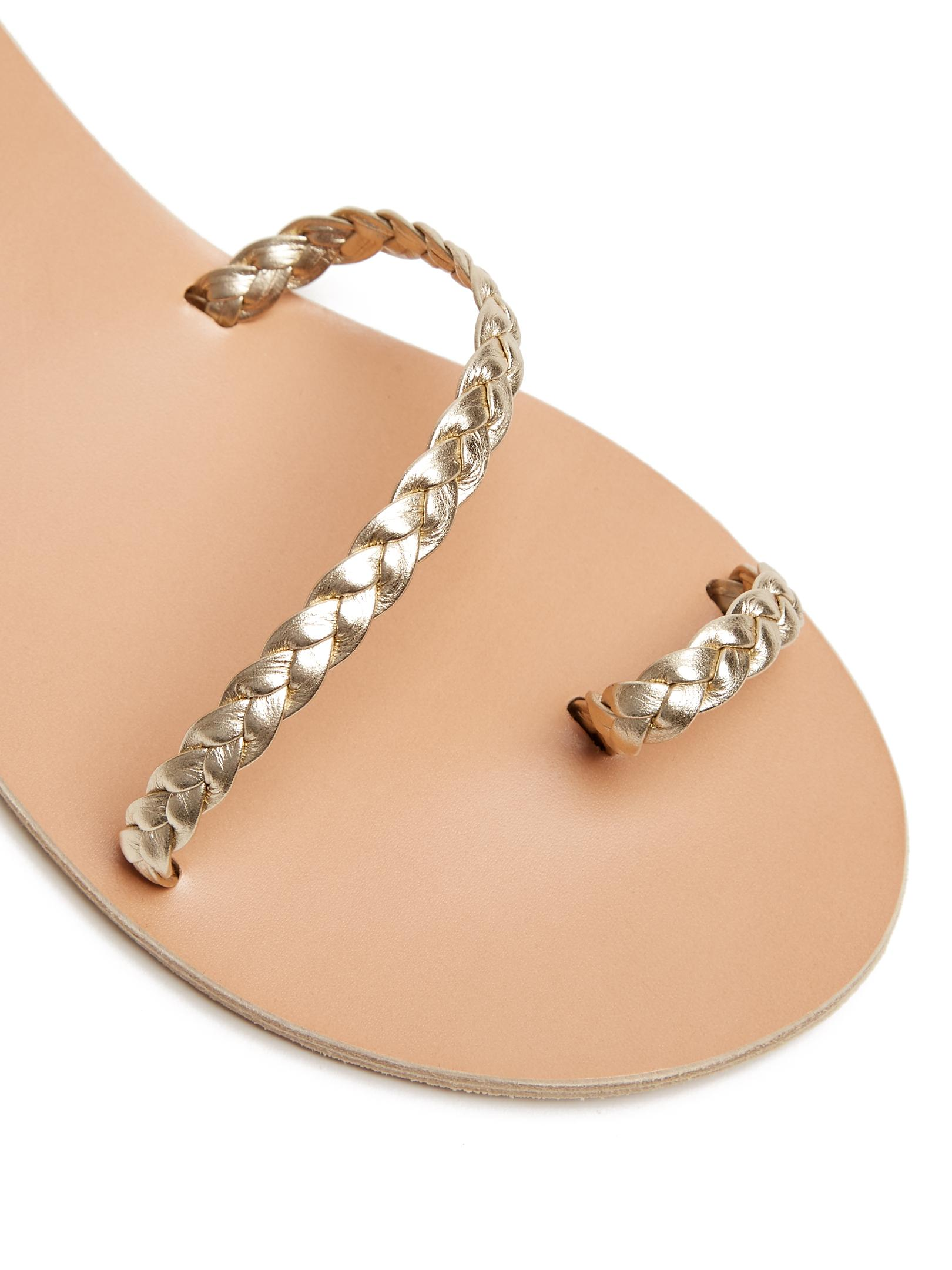 Ancient Greek Sandals Eletheria Plaited Leather Sandal In