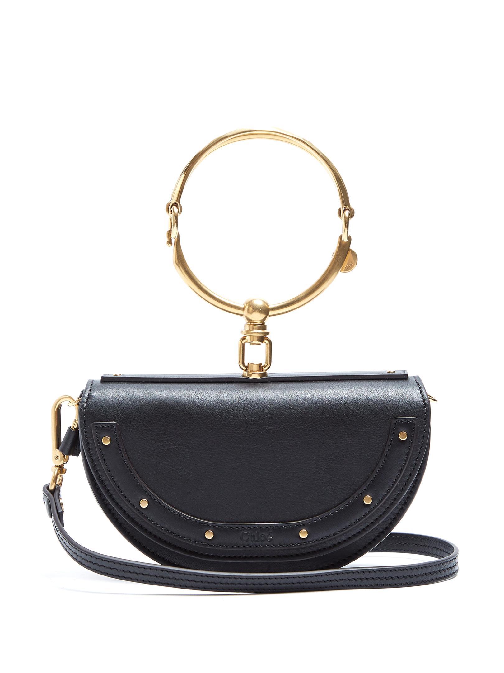 19f6fb39 Chloé Black Nile Minaudière Small Cross-body Bag