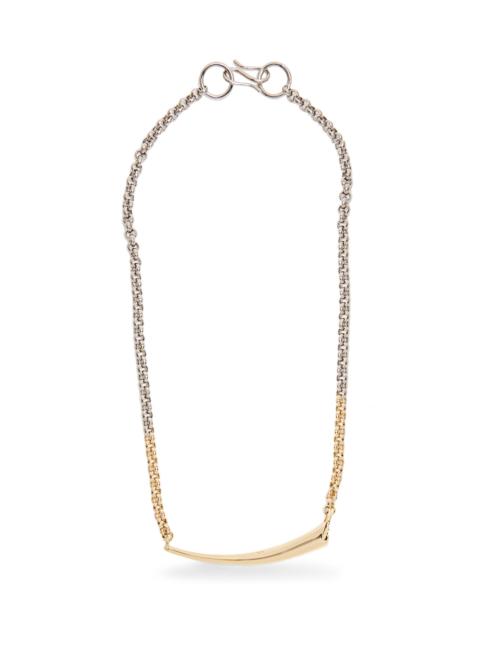 Charlotte Chesnais Alki Silver & Gold-plated Necklace in Metallic