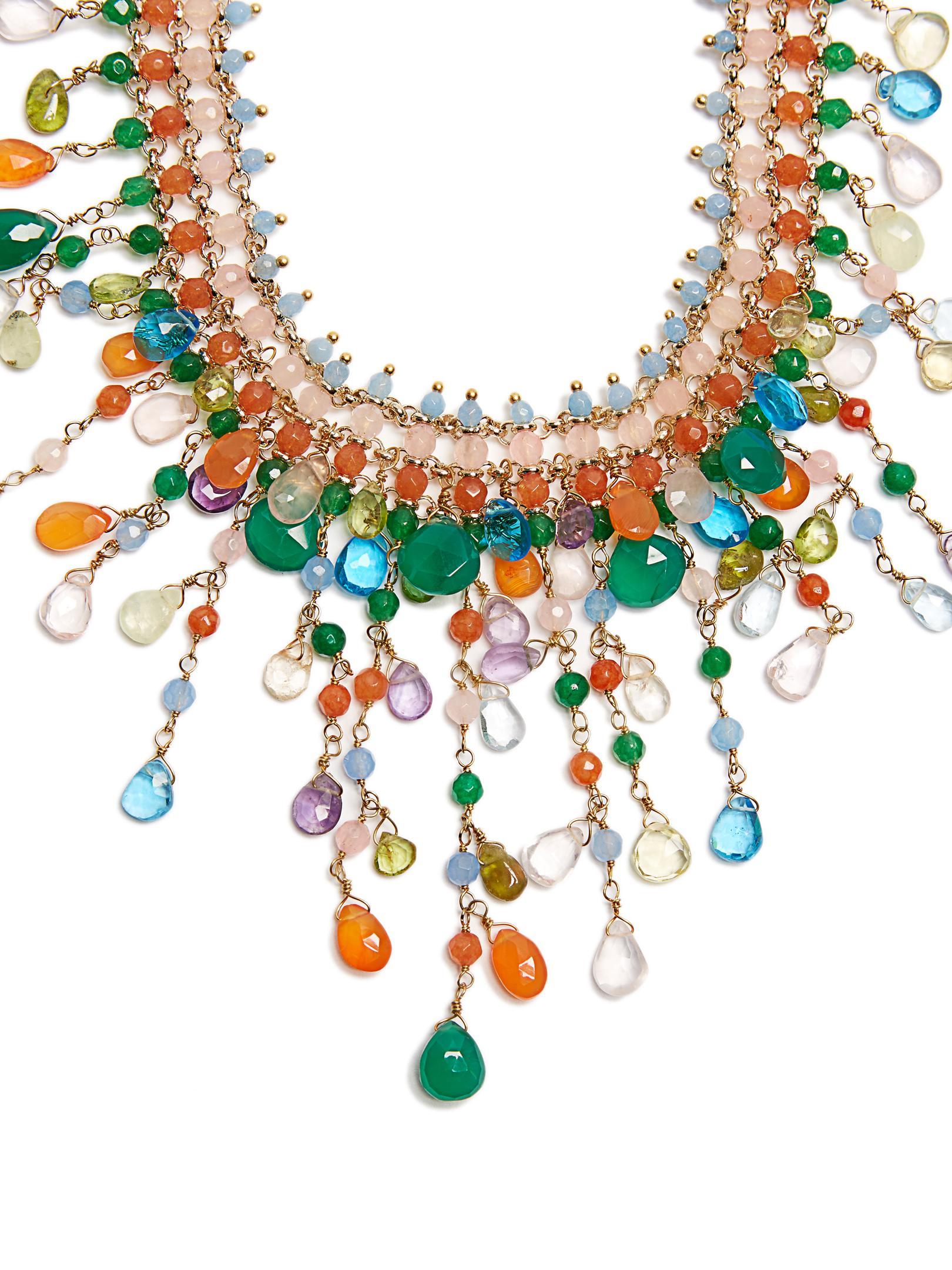 Rosantica By Michela Panero Nuova Multi-stone Necklace