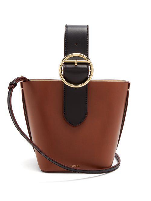 Sevres buckle-handle leather bag Joseph M6tM141aBT