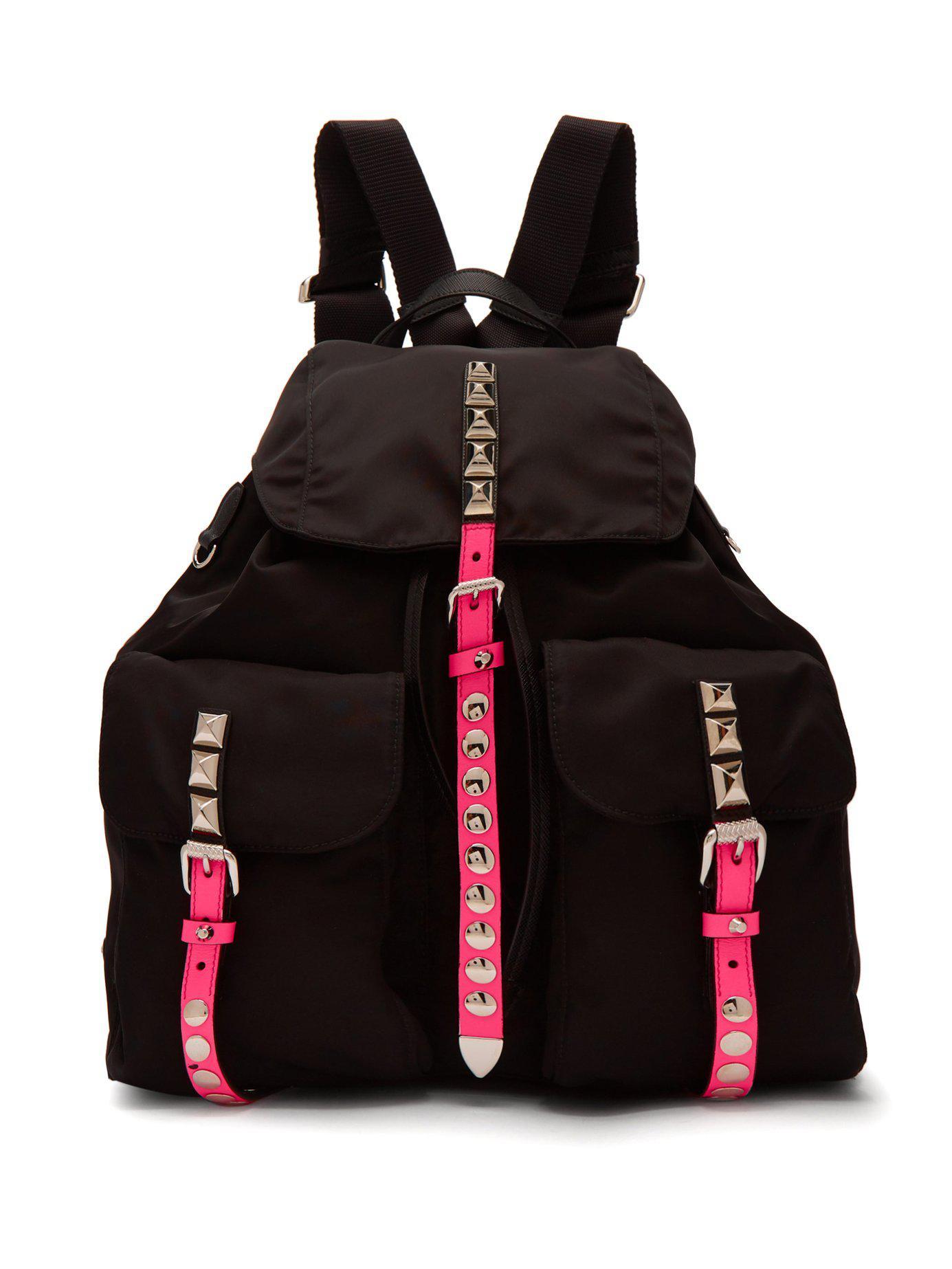 Neon Pink Prada Backpack- Fenix Toulouse Handball 22a458b641c5e