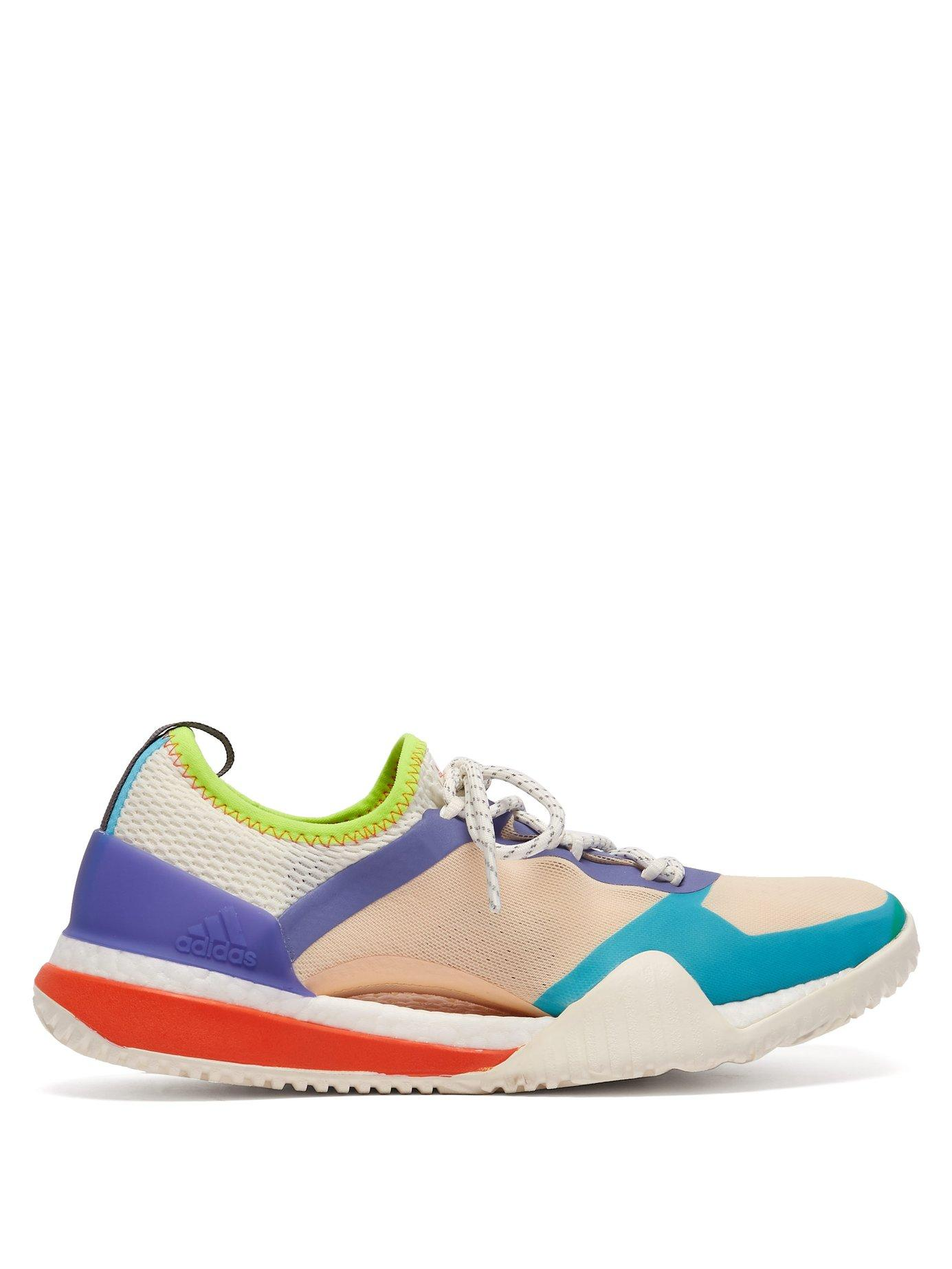 76138ca2cba Lyst - adidas By Stella McCartney Pureboost X Tr 3.0 Low Top Trainers