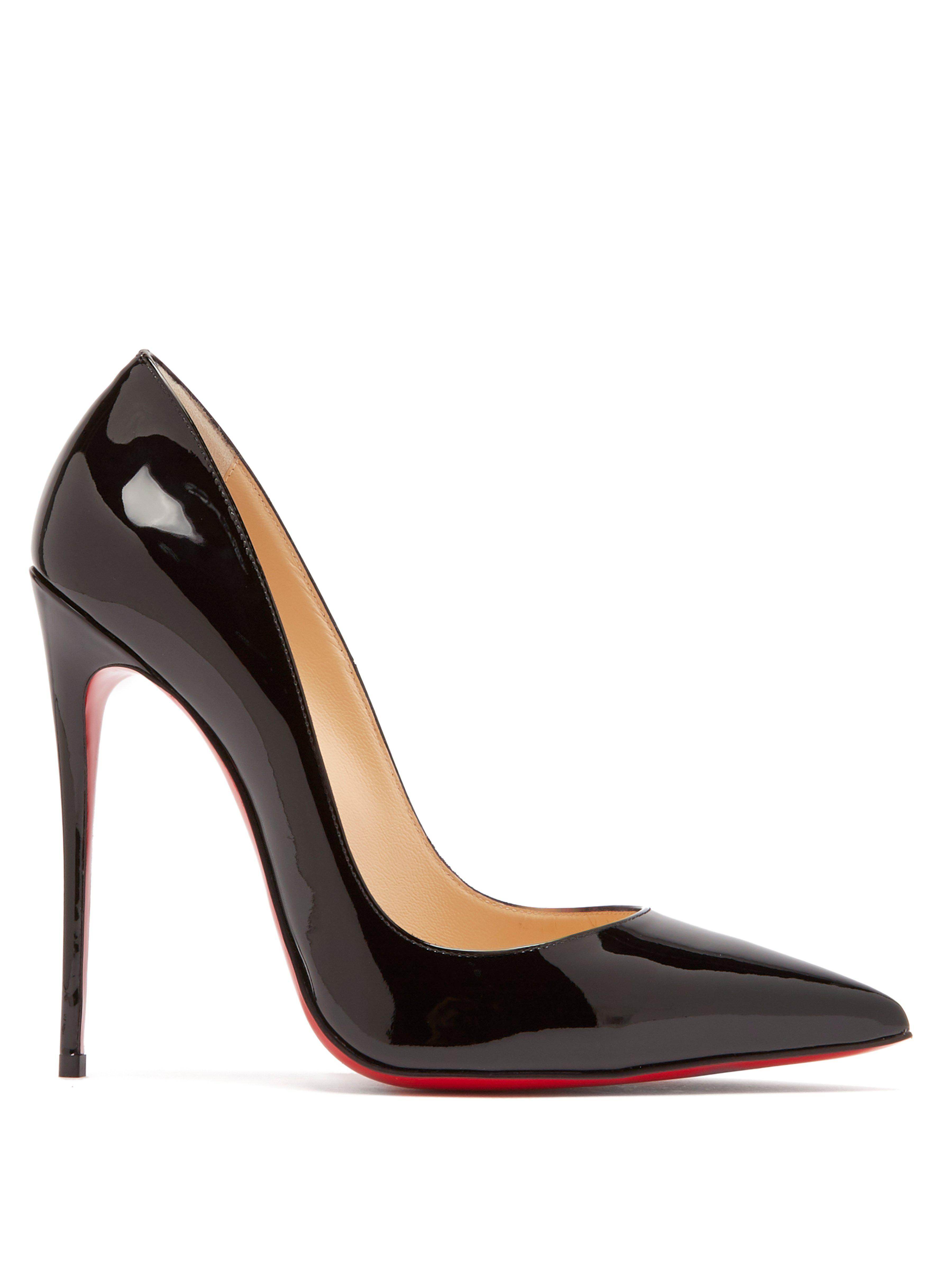 e760bae0dd38 Christian Louboutin So Kate 120 Patent Leather Pumps in Black - Save ...