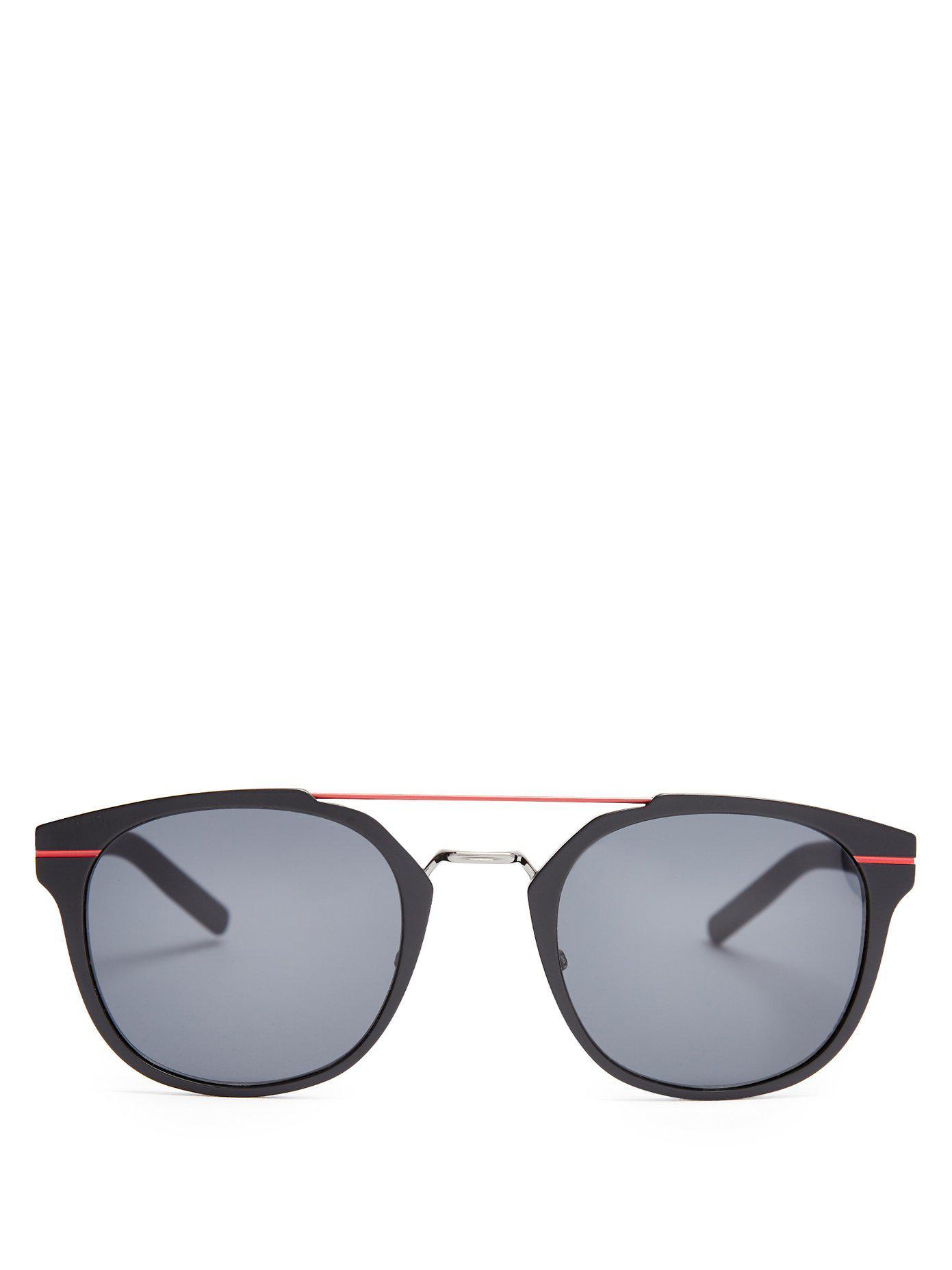 d6c02df6072 Lyst - Dior Homme Al13.5 Aluminium Sunglasses in Black for Men