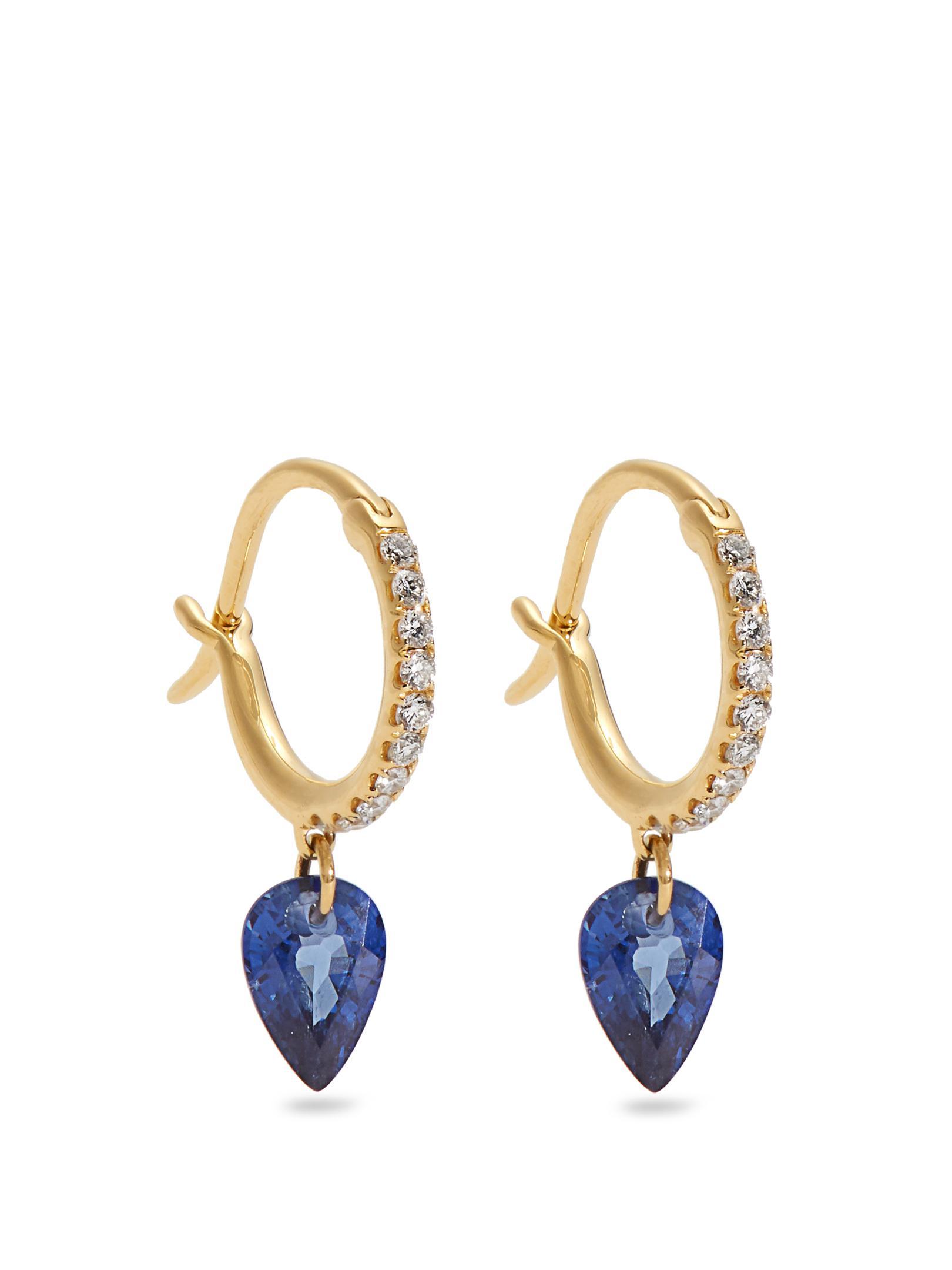 Raphaele Canot Set Free diamond & pink-gold earrings MJdTr