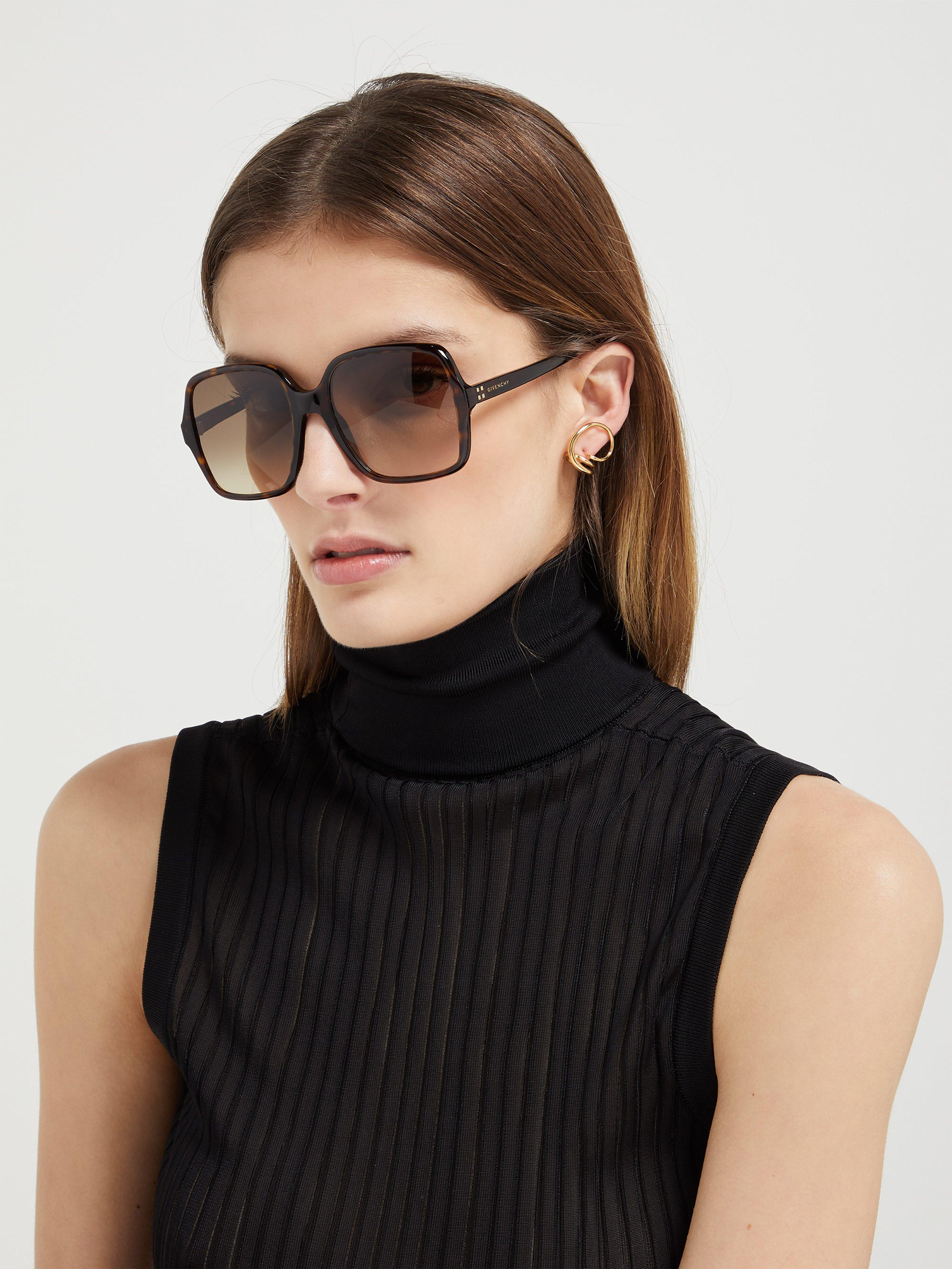 Square Frame Sunglasses Givenchy Multicolor Oversized Acetate ZiXOkuPT