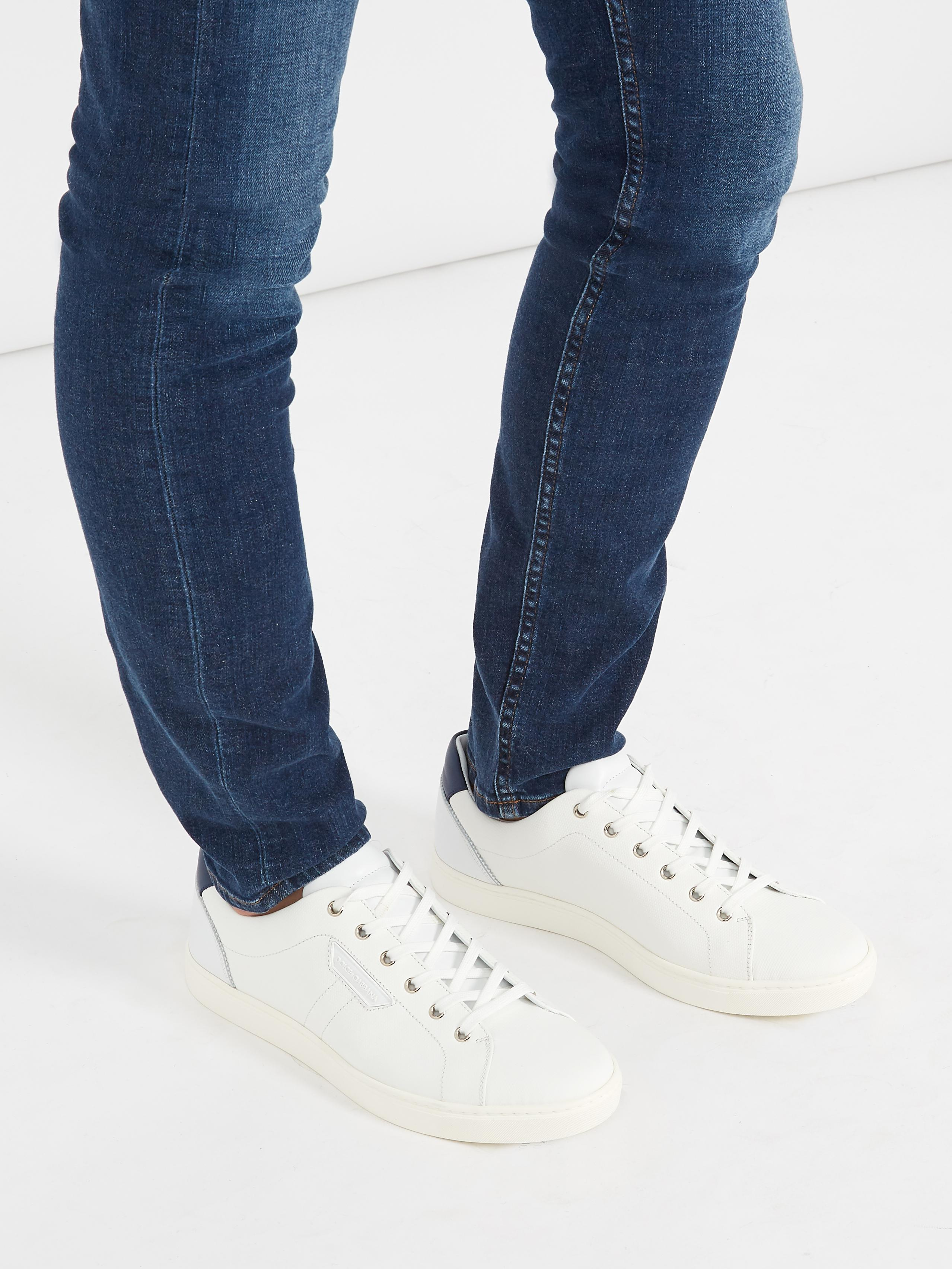 Dolce & Gabbana Denim Low-Top Sneakers with mastercard cheap online 98qtZStSm0