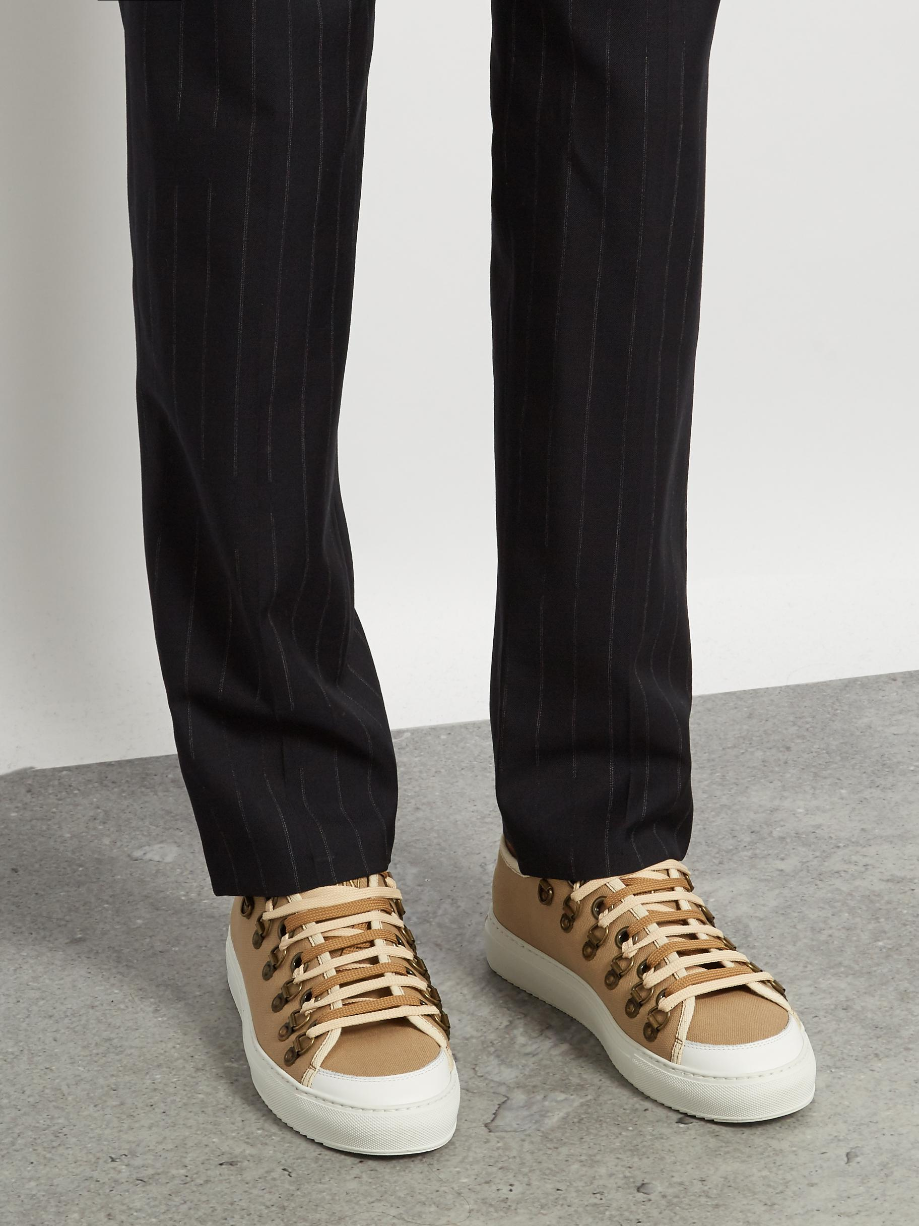JW Anderson Low-top Canvas Trainers in