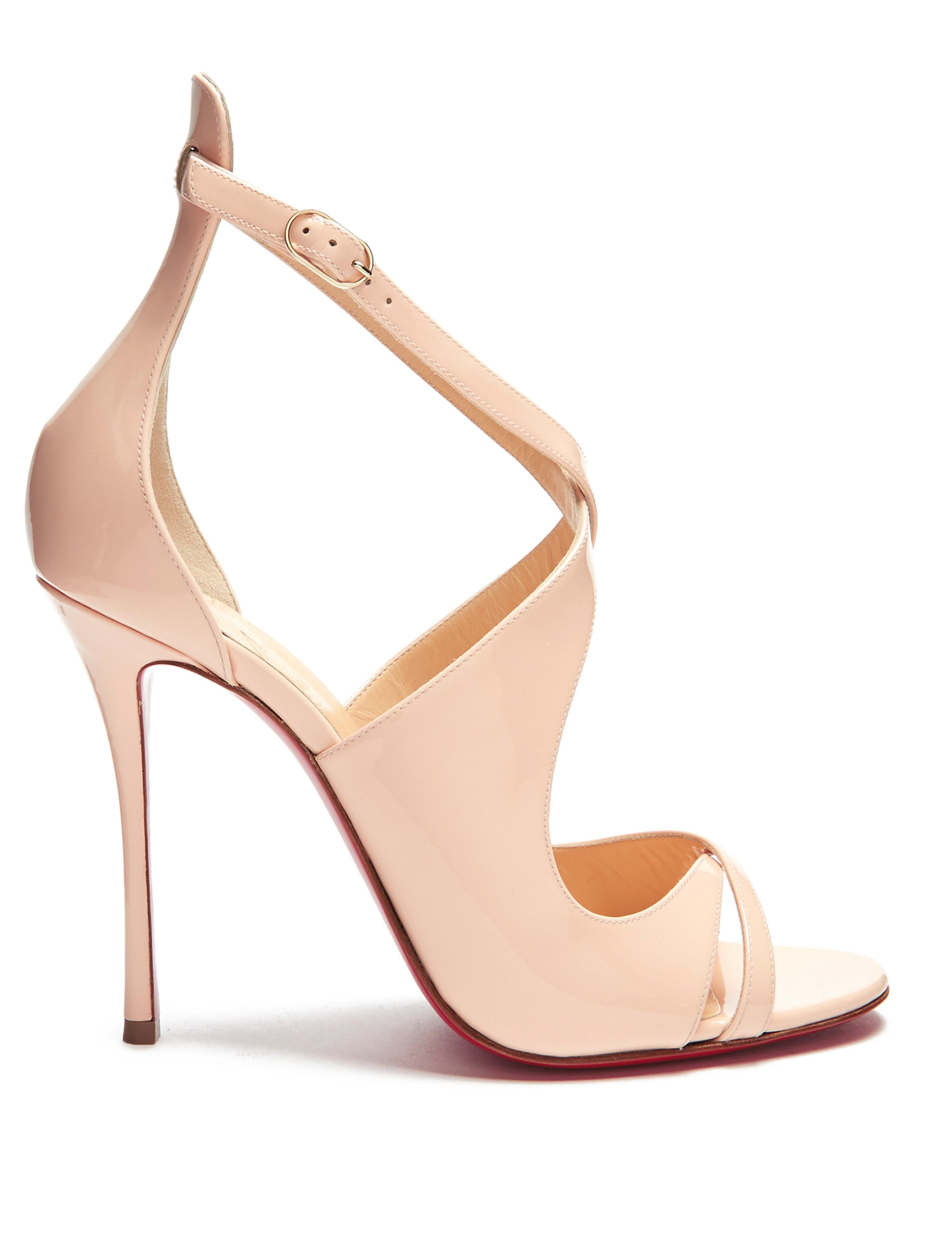 5271c16af8e Christian Louboutin. Women s Malefissima 100mm Patent-leather Court Shoes