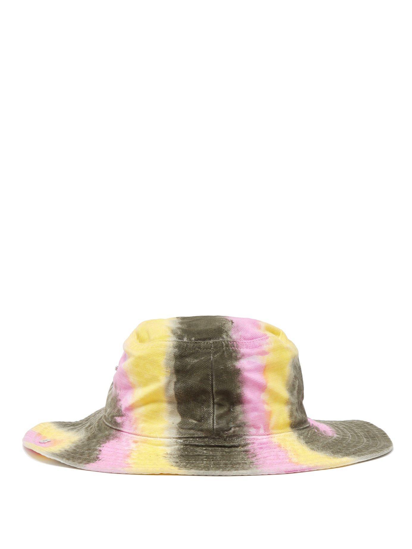 1267a9a58 Women's Shiloh Tie Dye Effect Cotton Bucket Hat