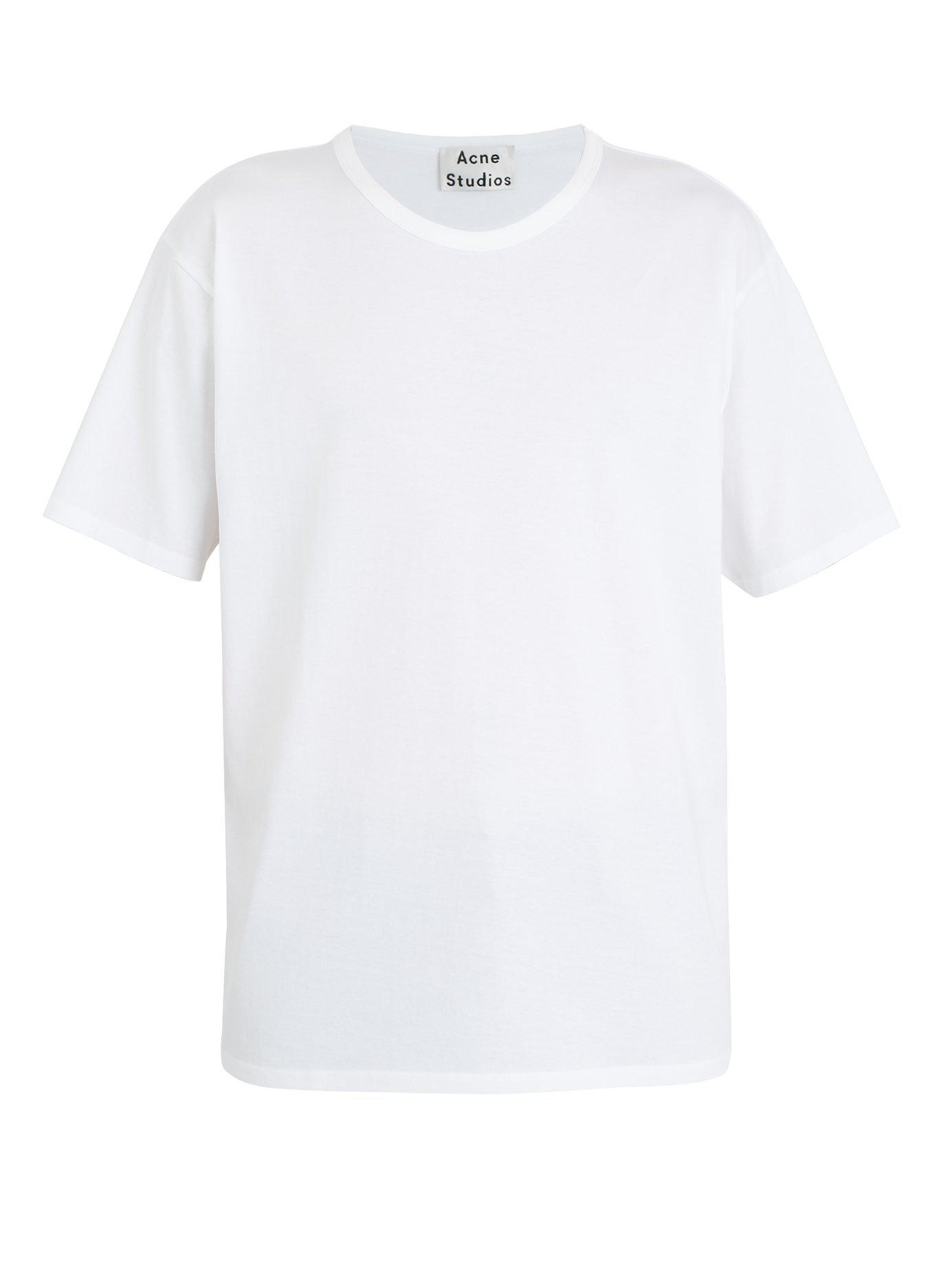 Acne T-shirt en jersey de coton Niagara uJpbErz