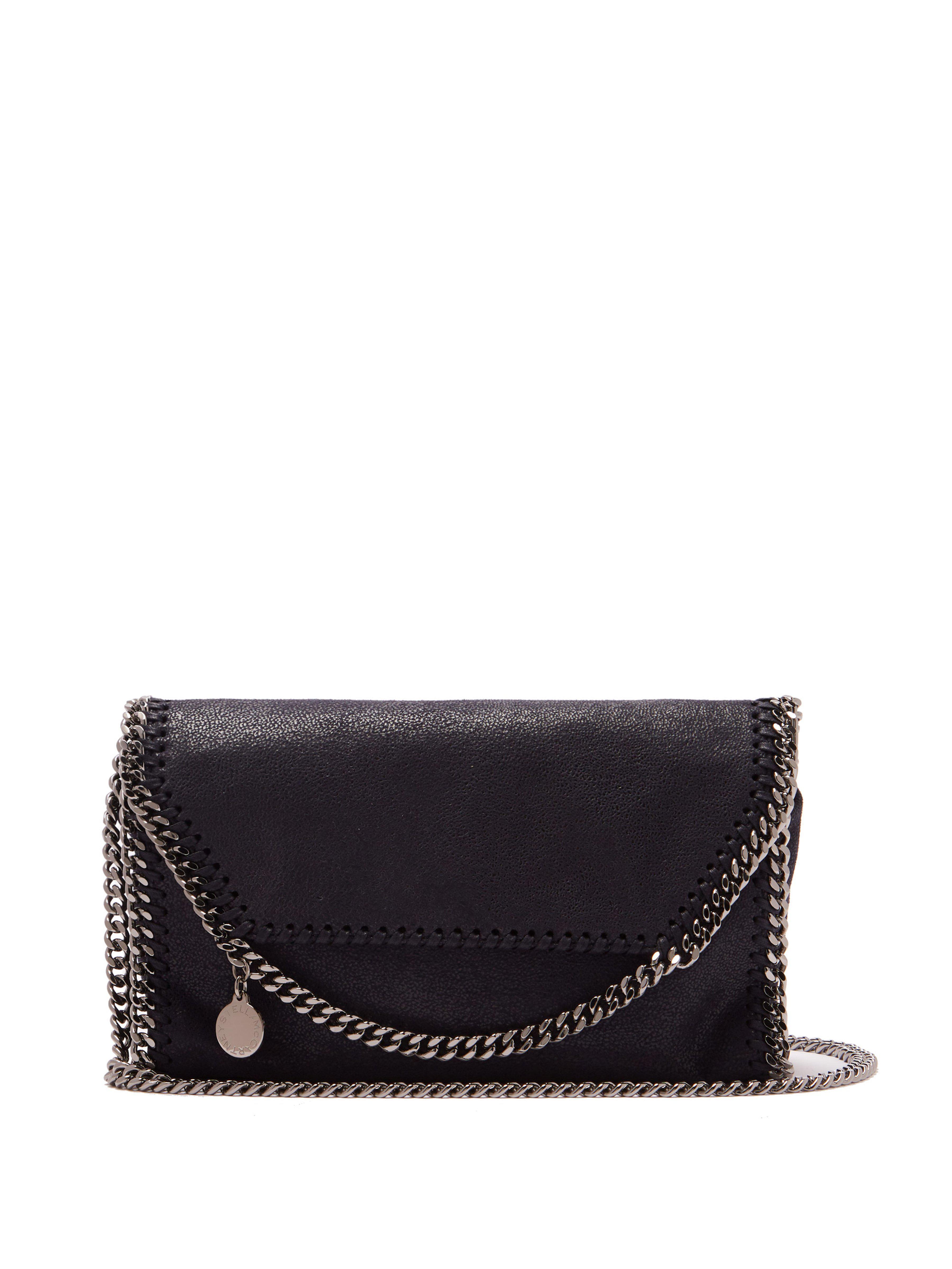 Stella McCartney. Women s Blue Falabella Faux-leather Mini Cross-body Bag fe5c41a0158af