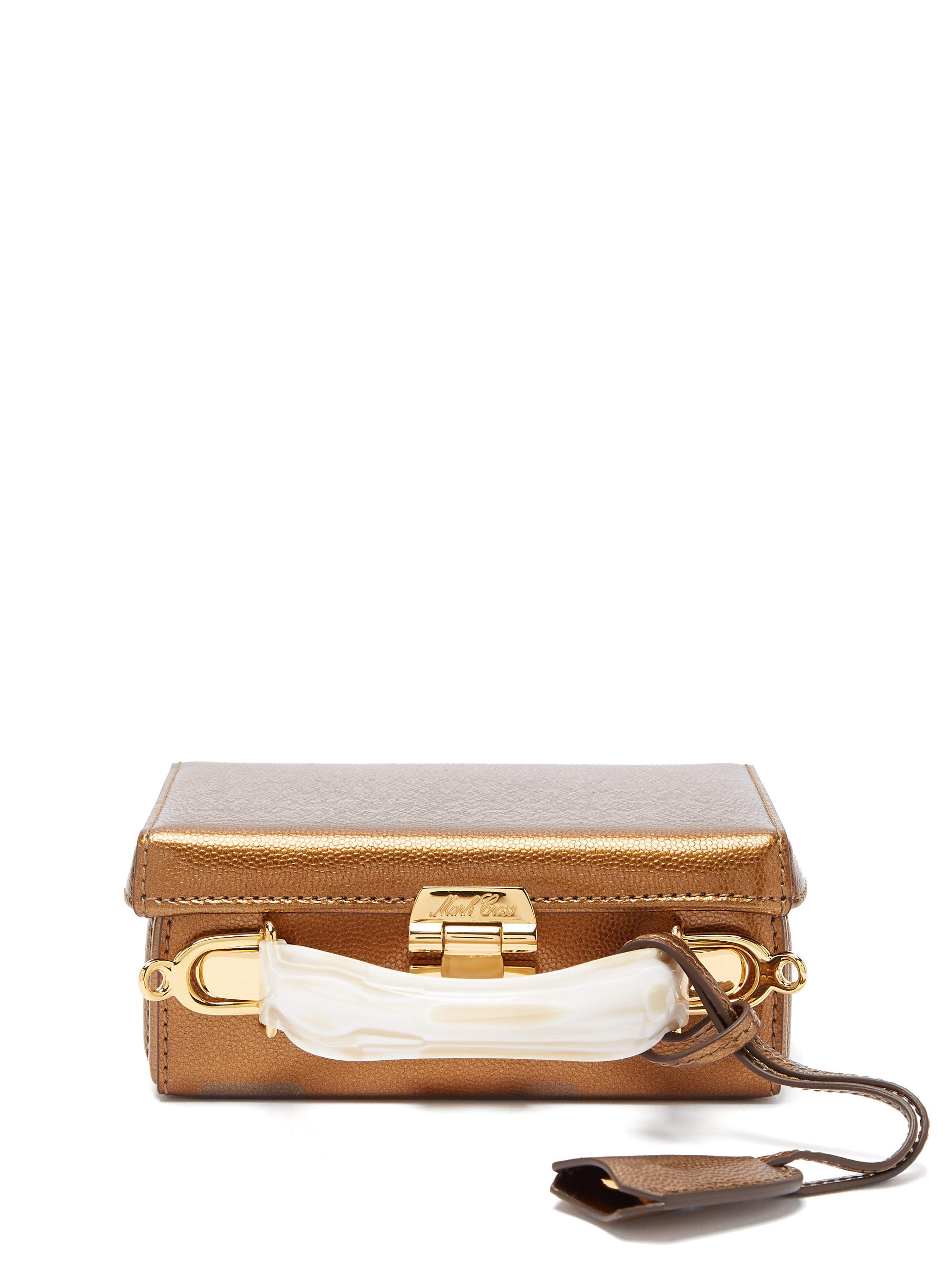 d3cfd3789878 Mark Cross. Women s Grace Mini Leather Cross Body Bag