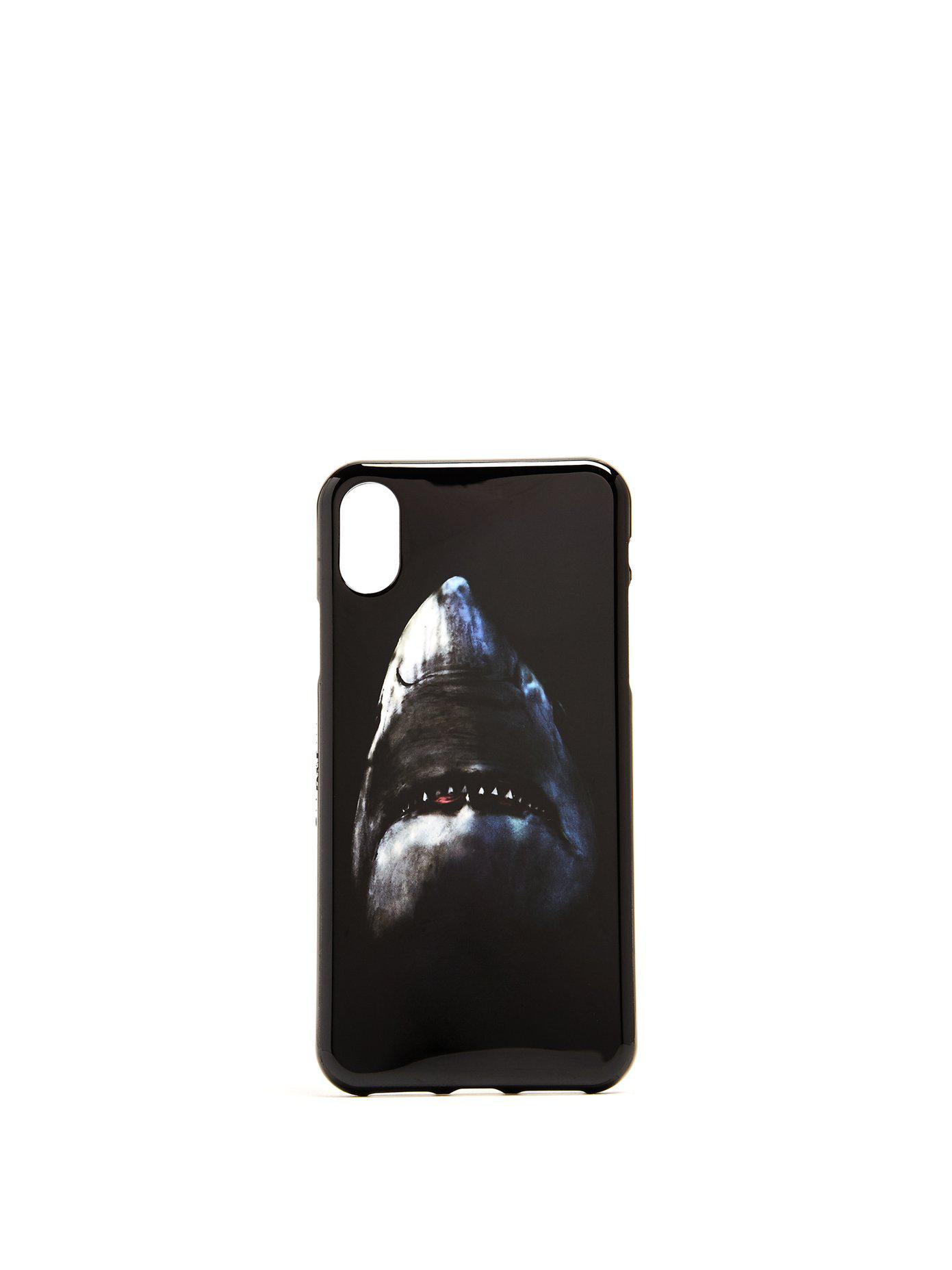reputable site f7ee2 ae527 Givenchy Black Shark-print Iphone® X Case