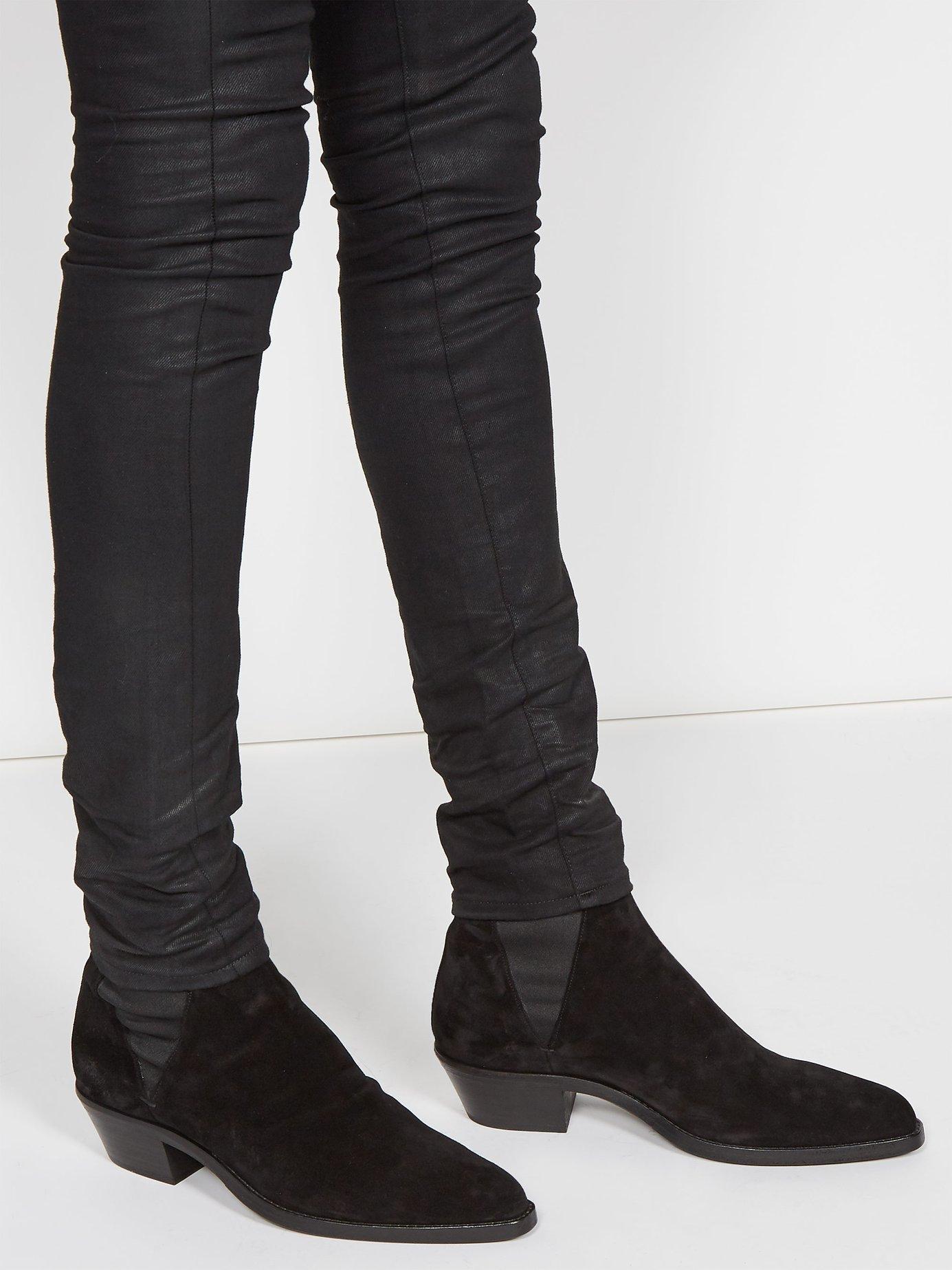975992d7032 Men's Black Dakota Suede Chelsea Boots