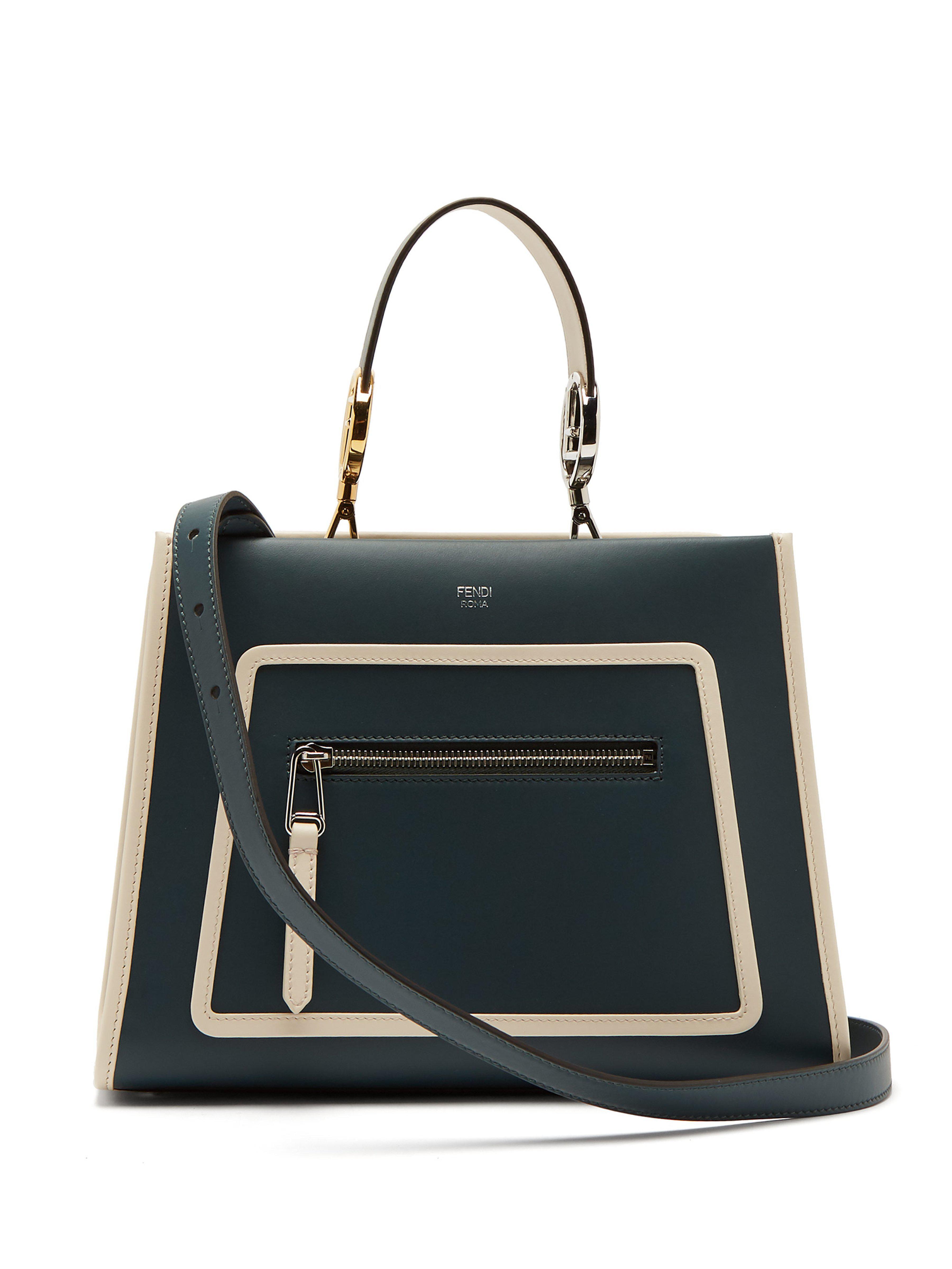 760b1e68ccea Fendi - Multicolor Runaway Leather Bag - Lyst. View fullscreen