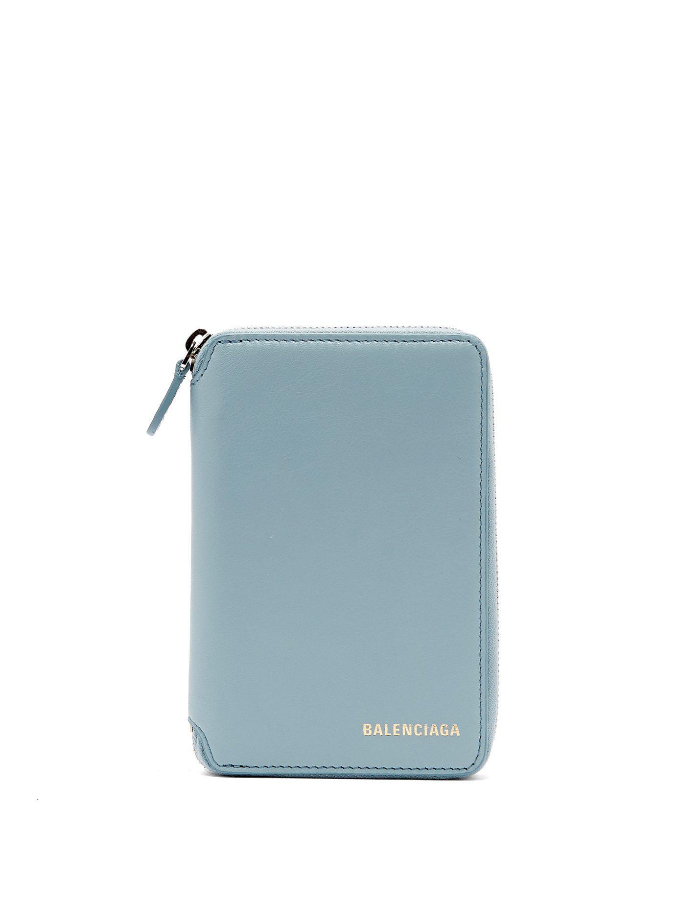Balenciaga Portefeuille en cuir à logo Ville ciX2kFK