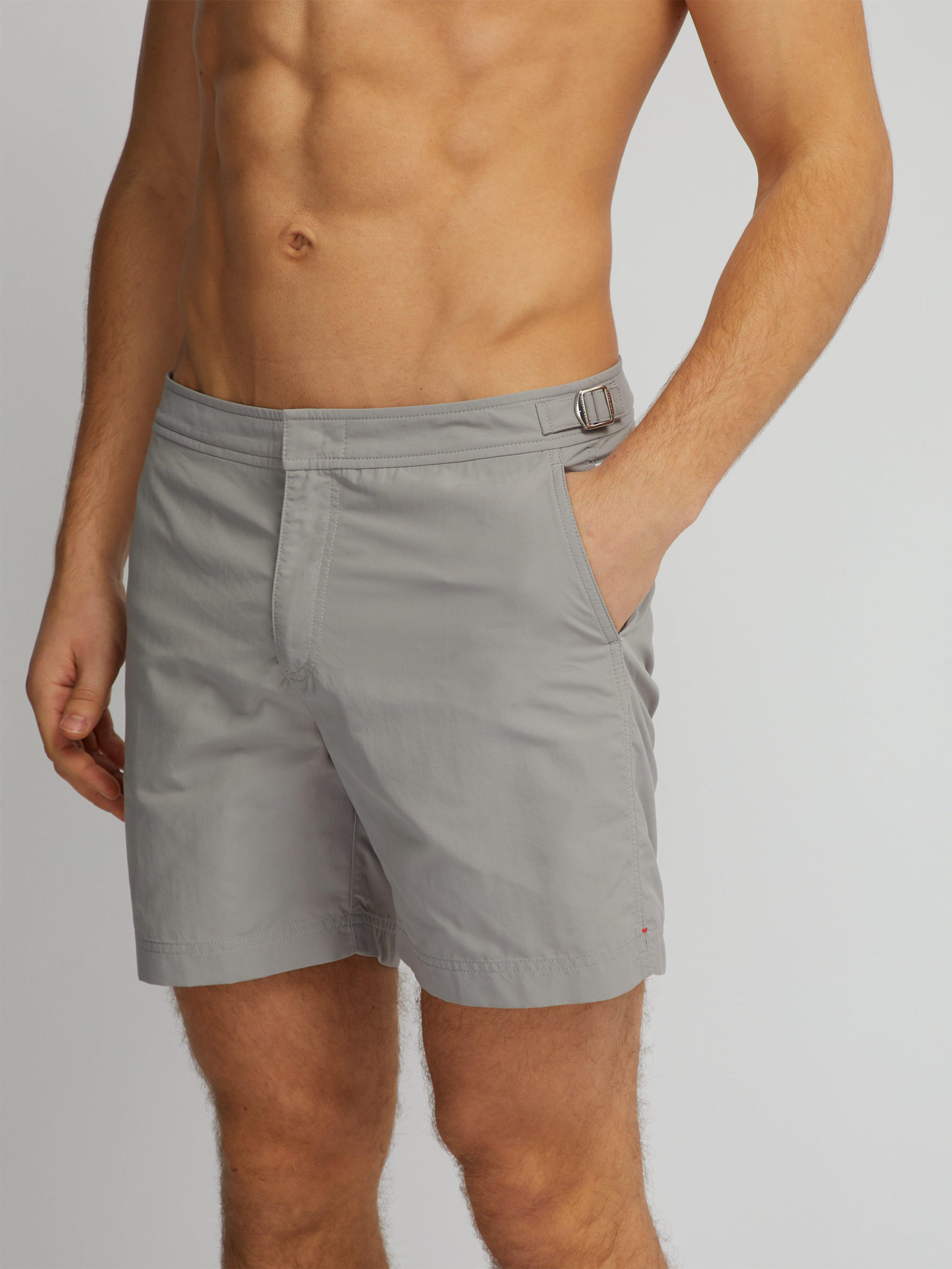 6cd534e152df7 Orlebar Brown Bulldog Swim Shorts in Gray for Men - Lyst