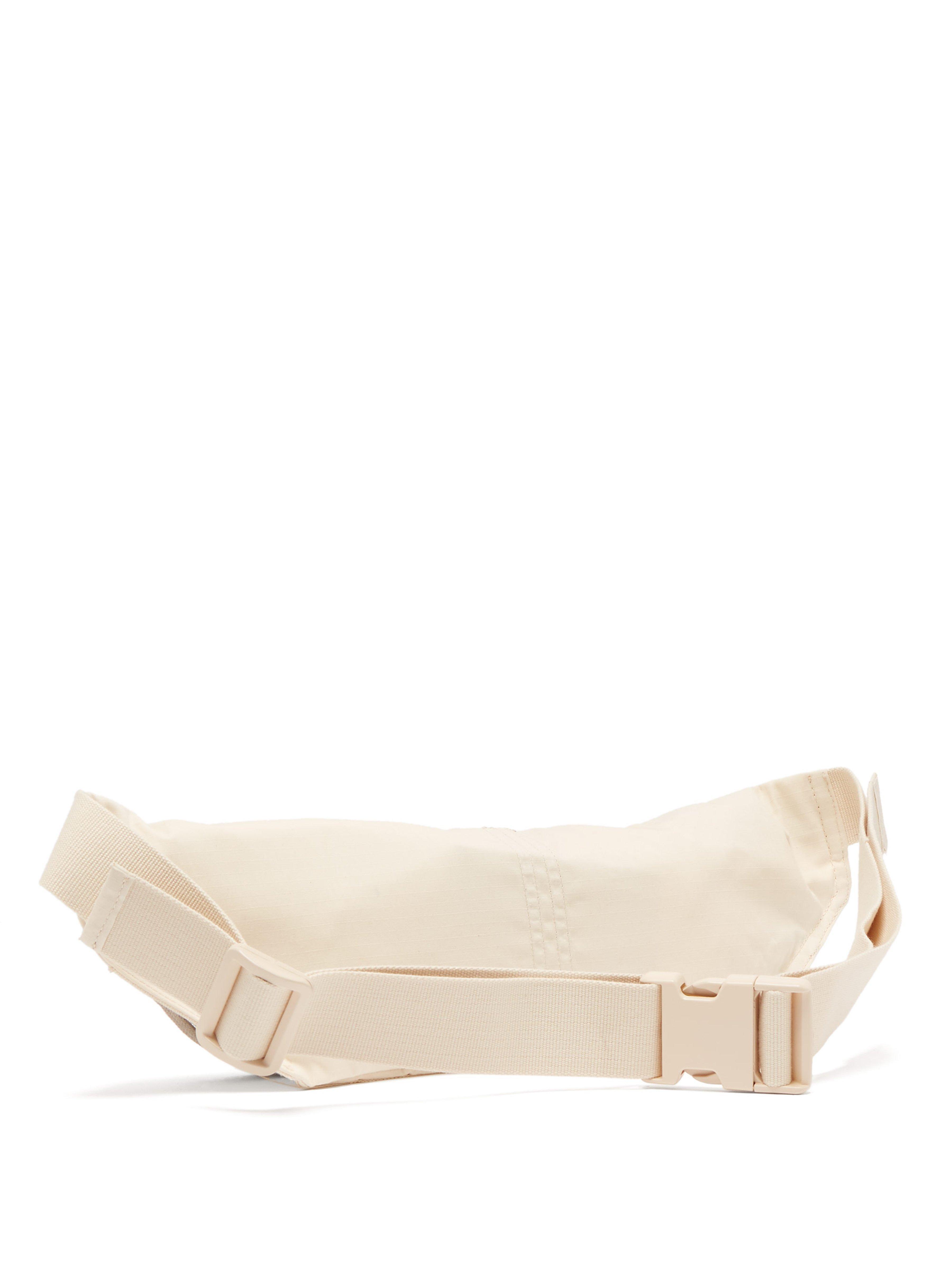 f84024f2a Rick Owens Drkshdw Aliens Patch Canvas Belt Bag in Natural for Men ...