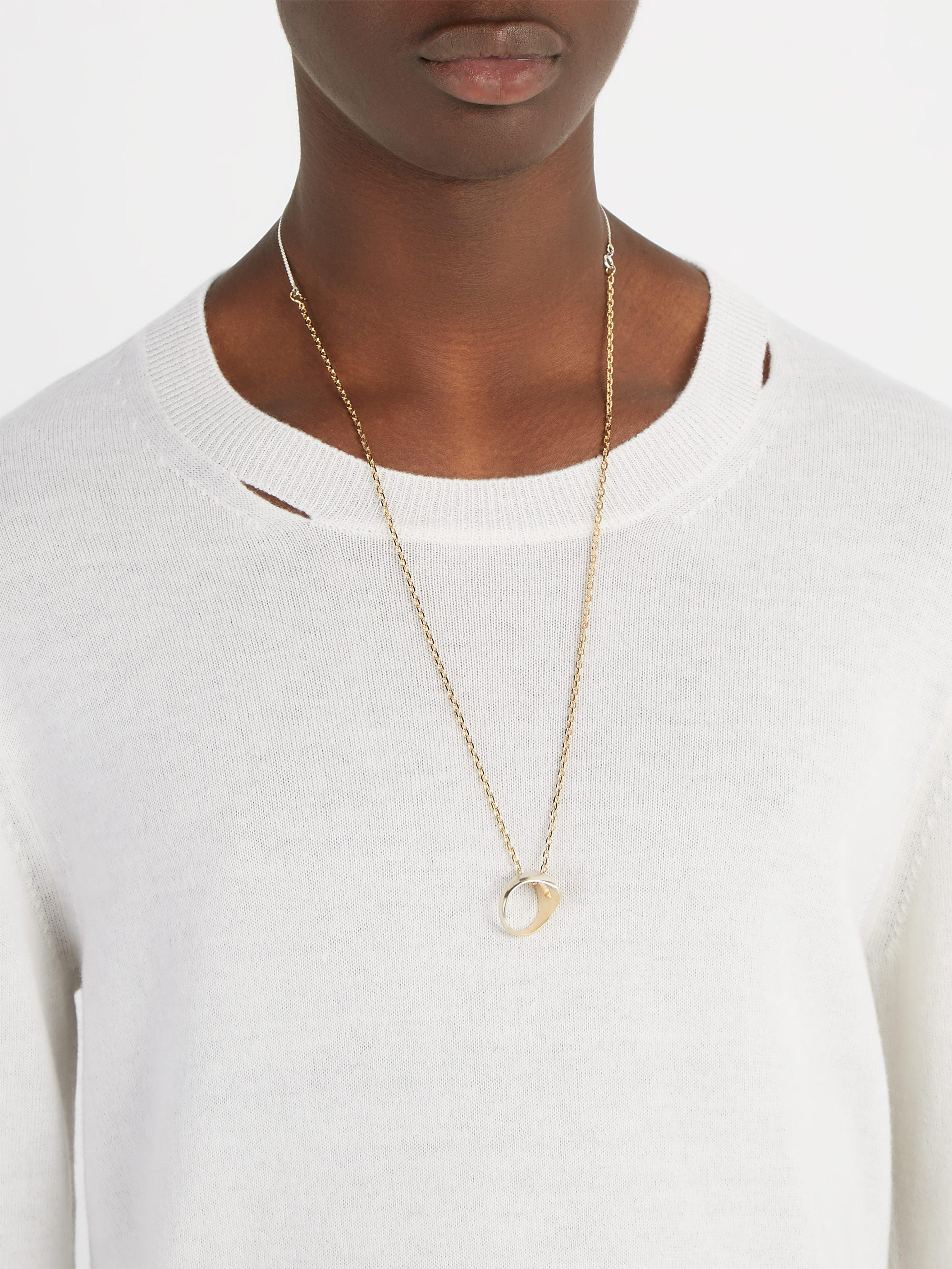 Maison Margiela Three-in-one Necklace in Metallic for Men