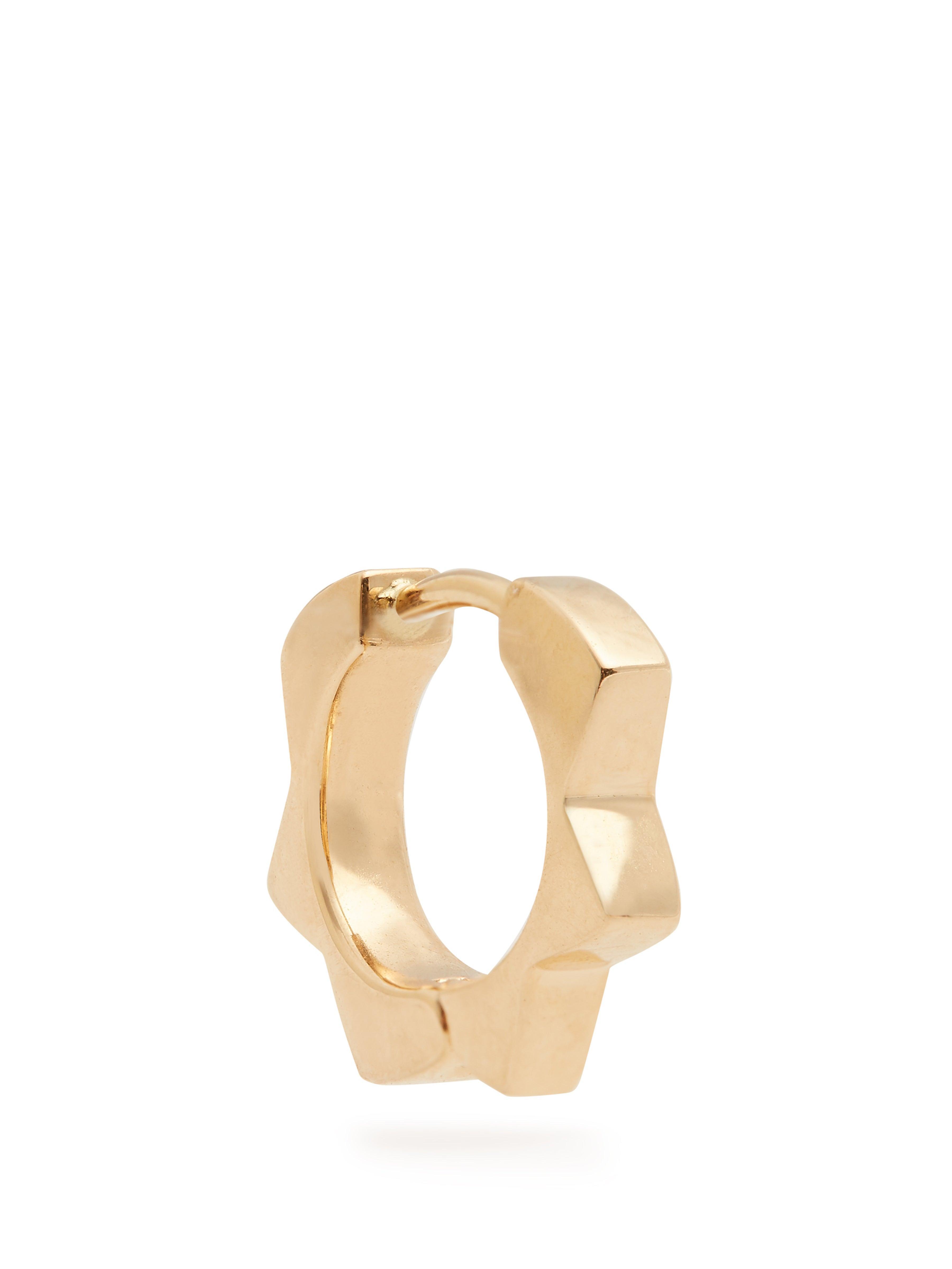 Alison Lou Diamond & Yellow-gold Stelle Single Earring in Metallic