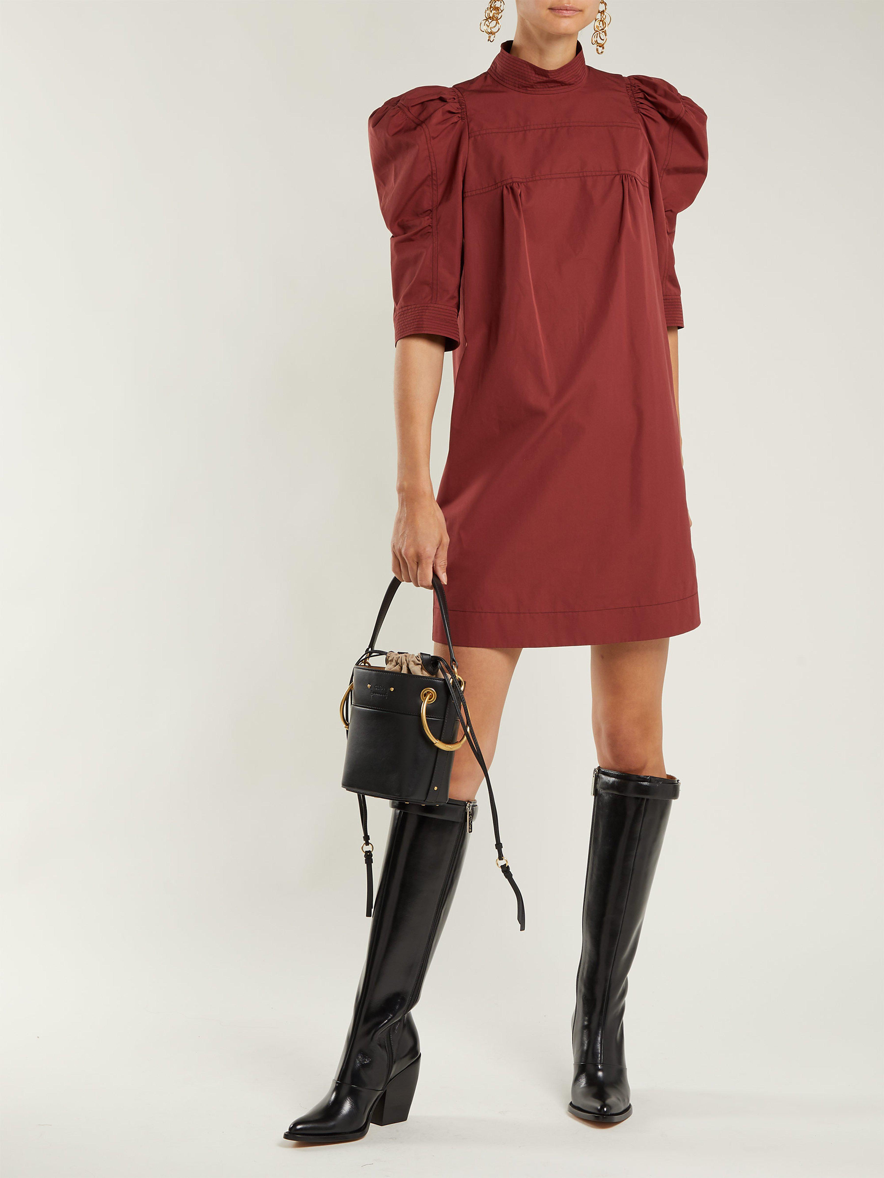 Chloé - Black Roy Mini Leather Bucket Bag - Lyst. View fullscreen 7879f0dbbf946