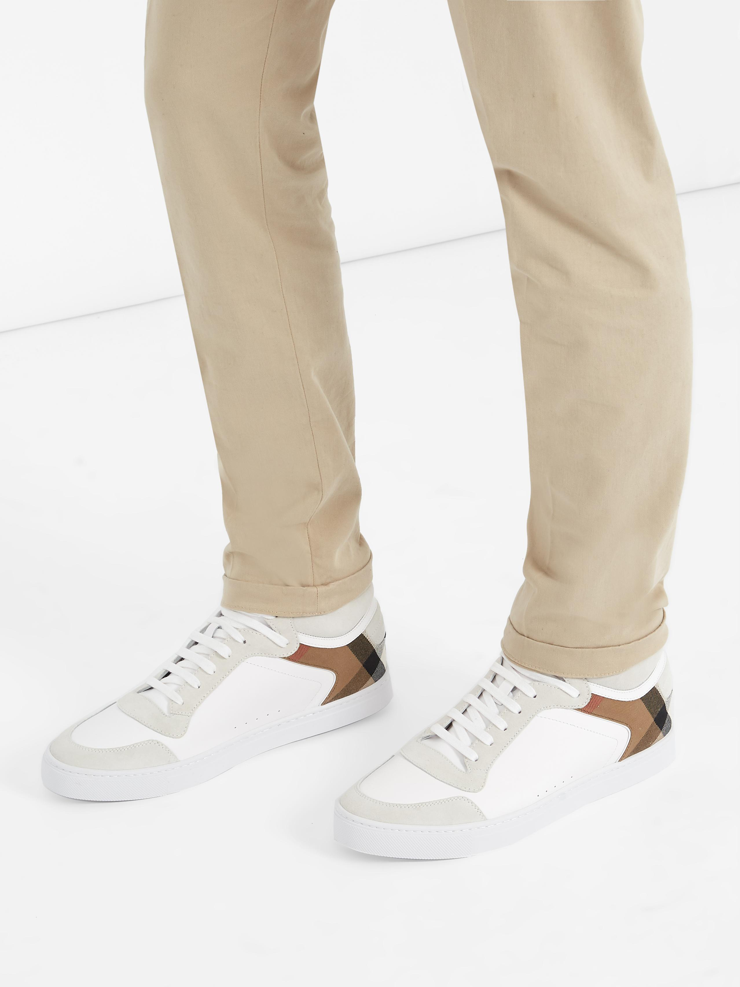 Burberry Reeth High-top Leather