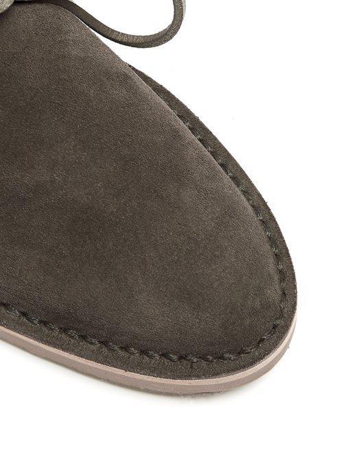Alvaro Arabia Suede Ankle Boots in Mid Grey (Grey)