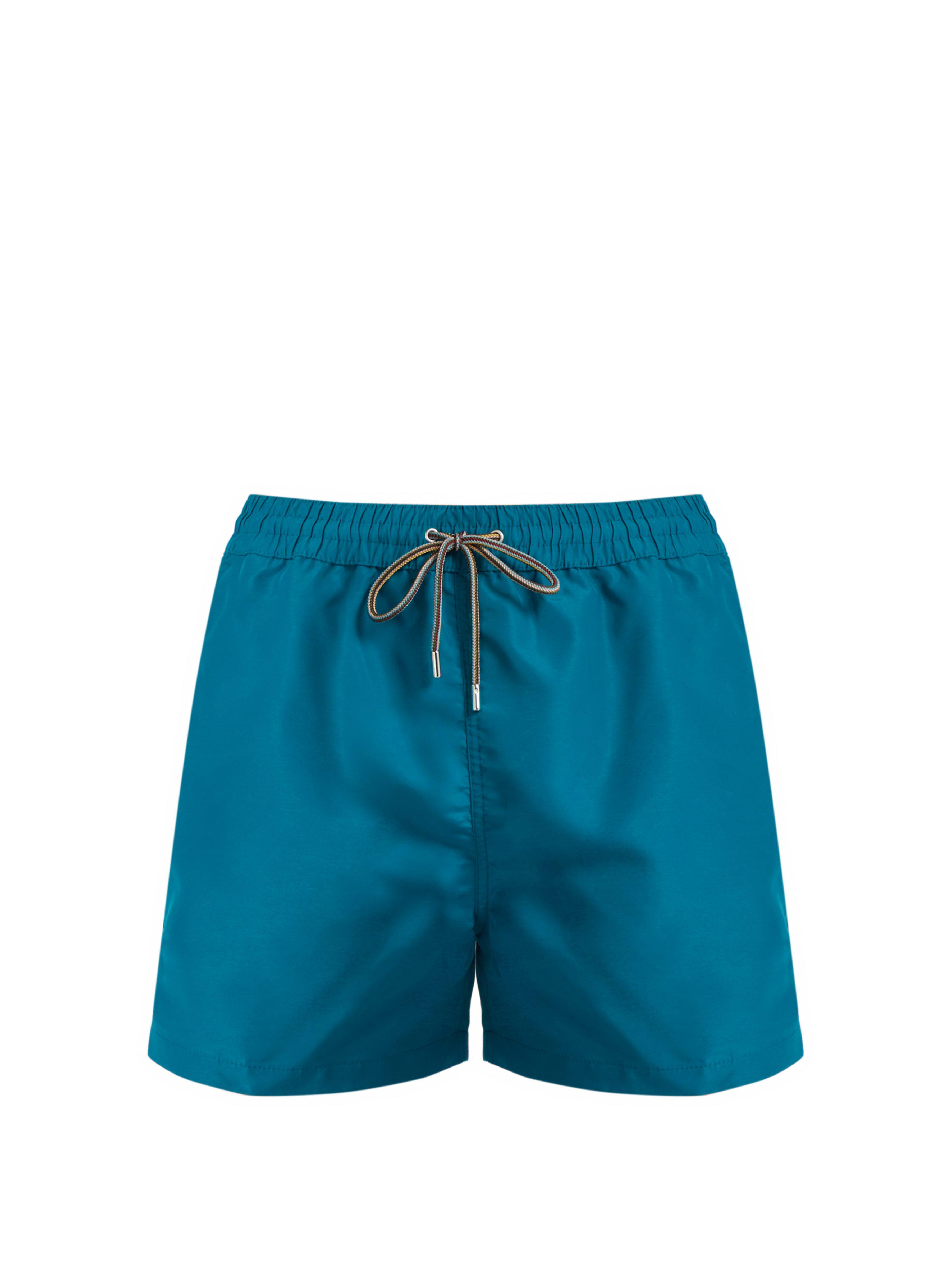 f02829773c Paul Smith Classic Swim Shorts in Green for Men - Lyst