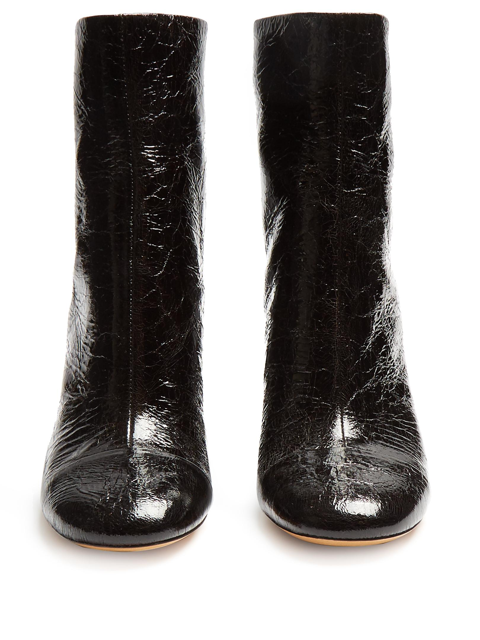 Isabel Marant Grover Crinkle Patent