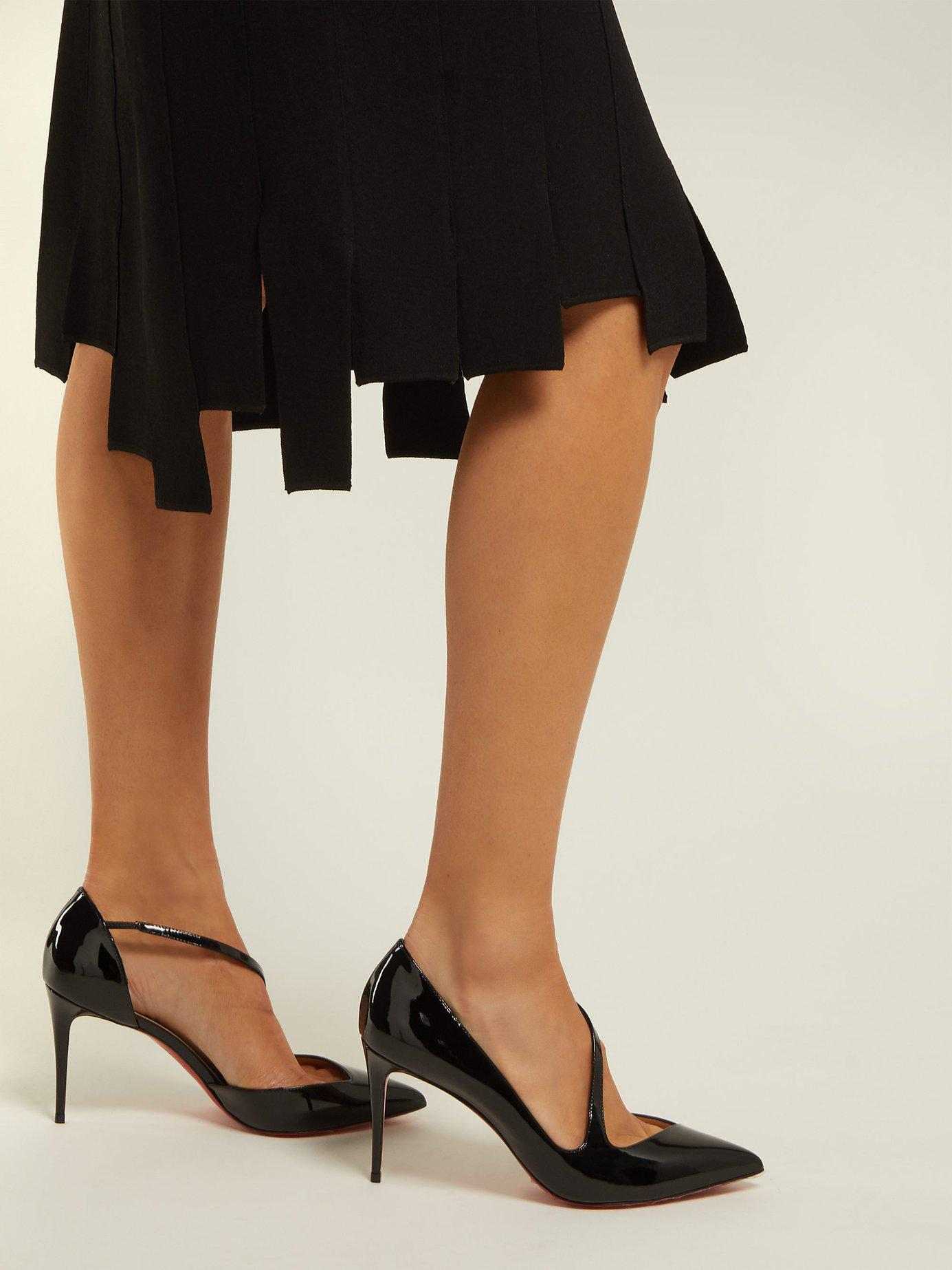 timeless design 4cc3f 14060 Women's Black Jumping 85 Patent Leather Pumps