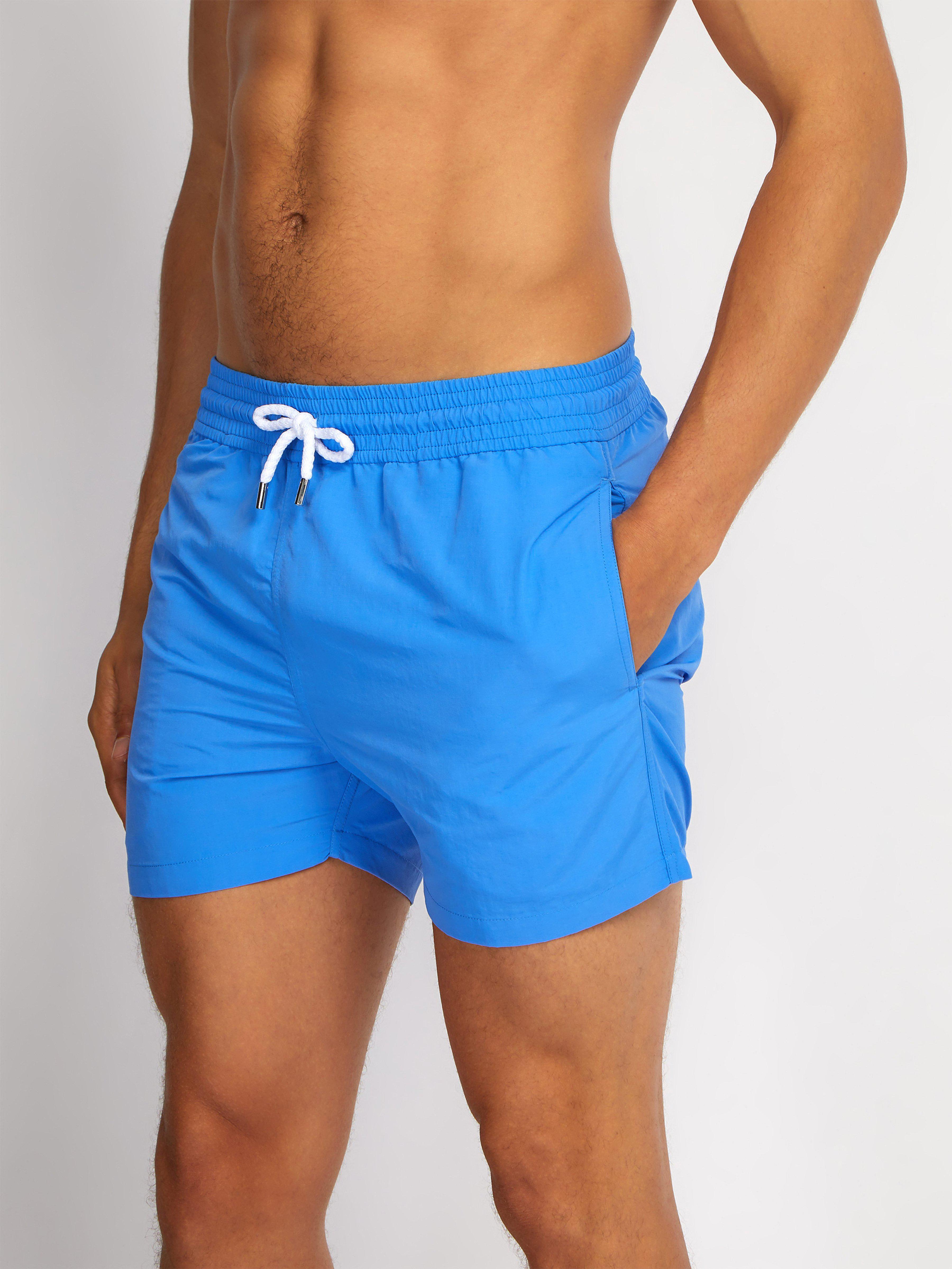 23f3bb3899 Frescobol Carioca Sports Swim Shorts in Blue for Men - Lyst