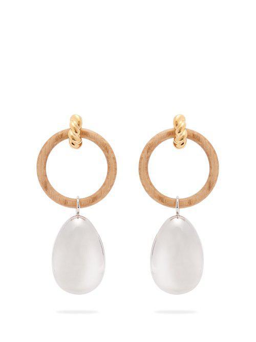 Balenciaga Hoop and pendant earrings T6mWt60ce