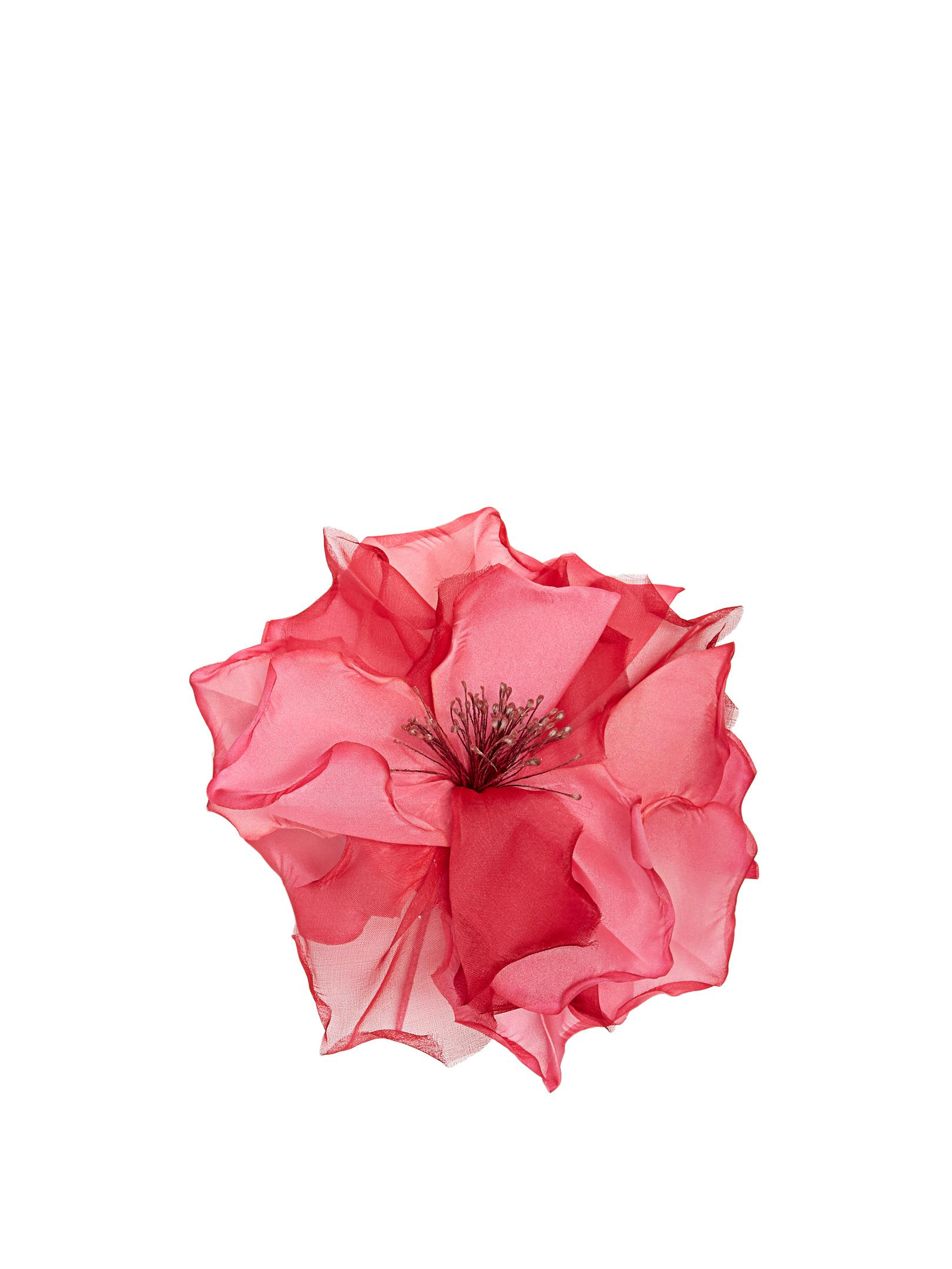 Lyst Racil Country Flower Silk Organza Brooch In Pink