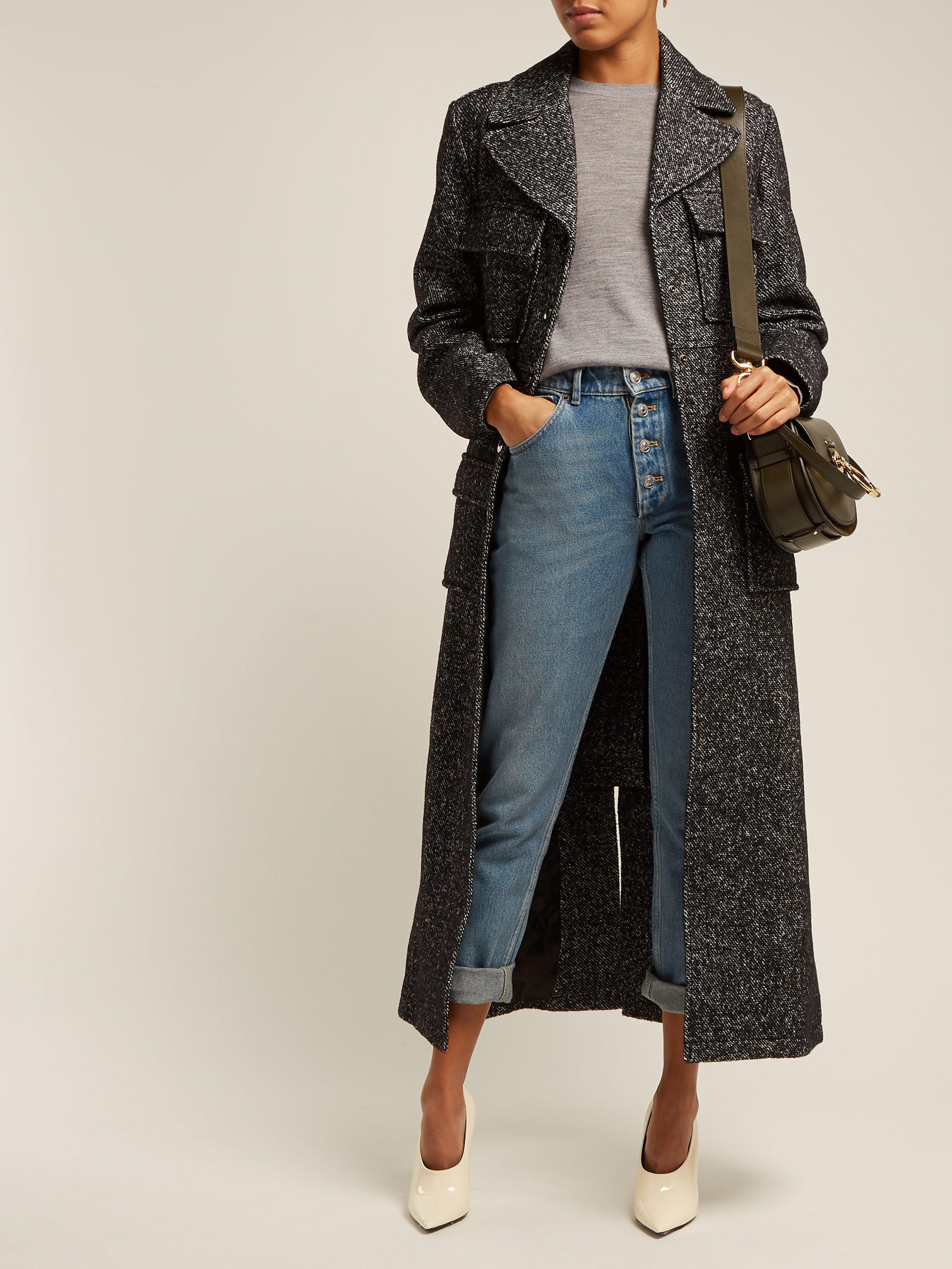 399fafda5328 Burberry Bempton Merino Wool Sweater in Gray - Lyst
