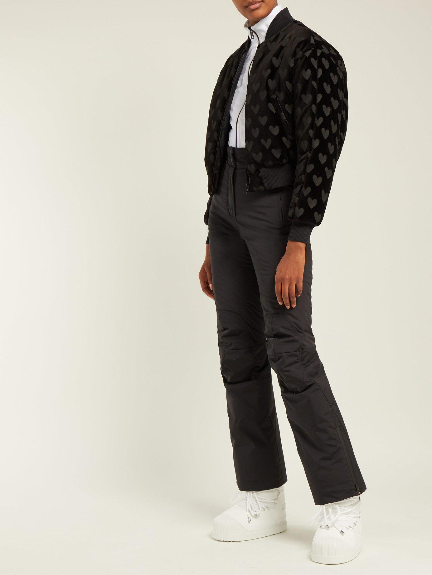 Fendi - Black High Rise Padded Technical Ski Trousers - Lyst. View  fullscreen e2fc73196