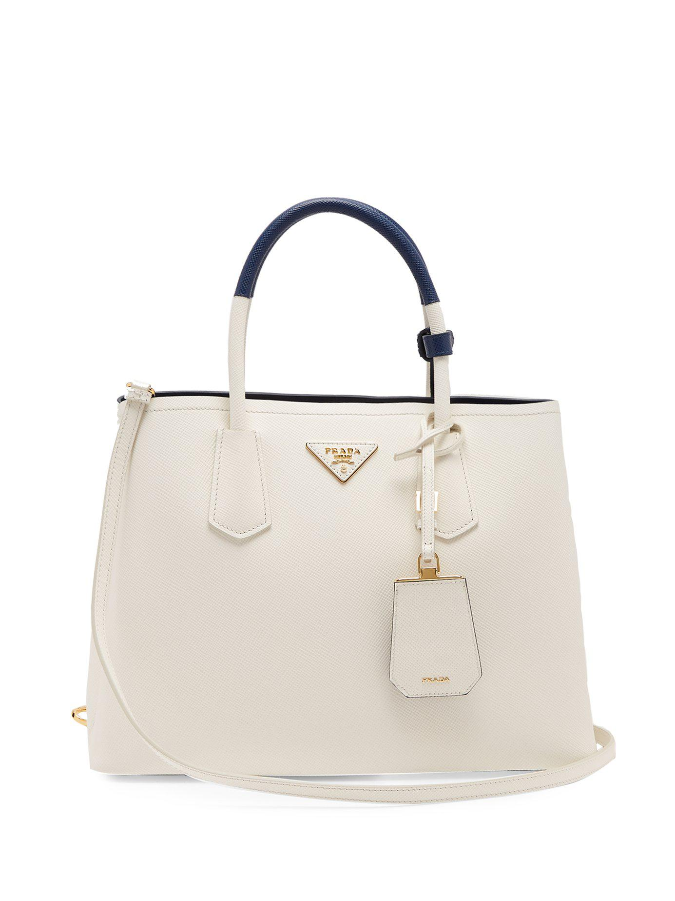 Prada. Women s Double Saffiano Leather Bag c0588b0ec243b