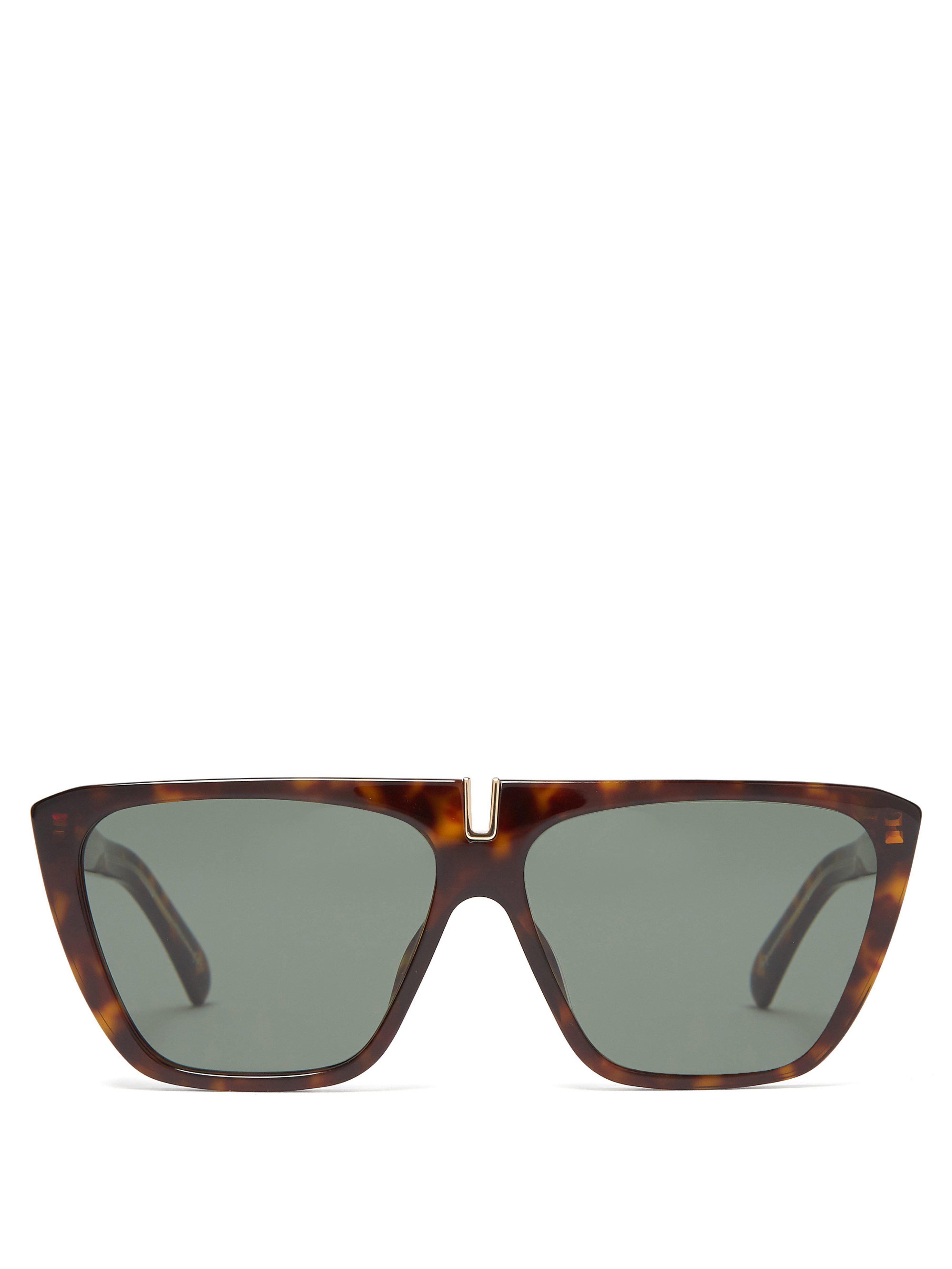 211e8c1859 Givenchy. Women s Flat Top Acetate Sunglasses