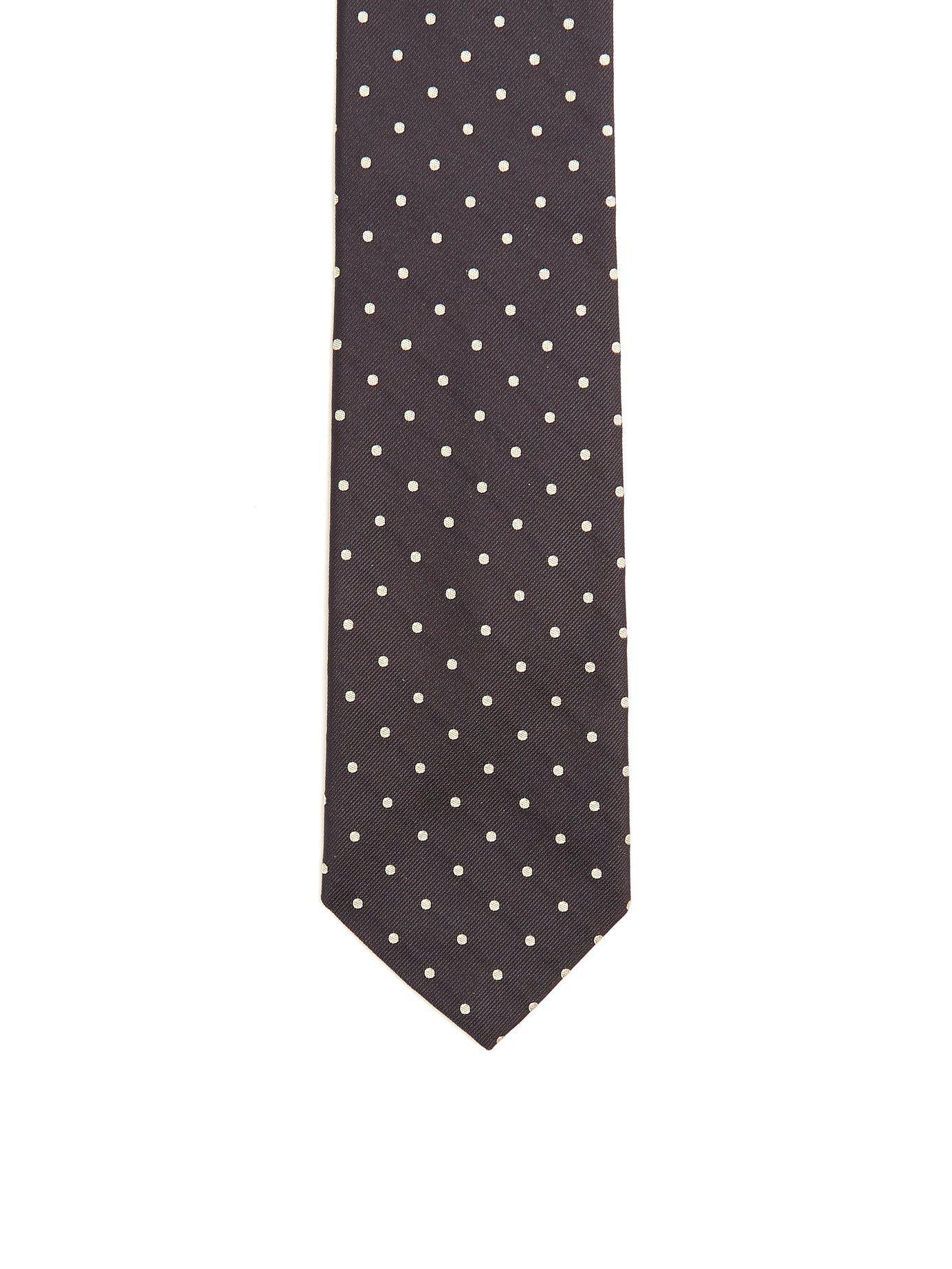 a125a93bb8e3 Prada - Multicolor Cravate en satin de soie à logo brodé for Men - Lyst.  Afficher en plein écran