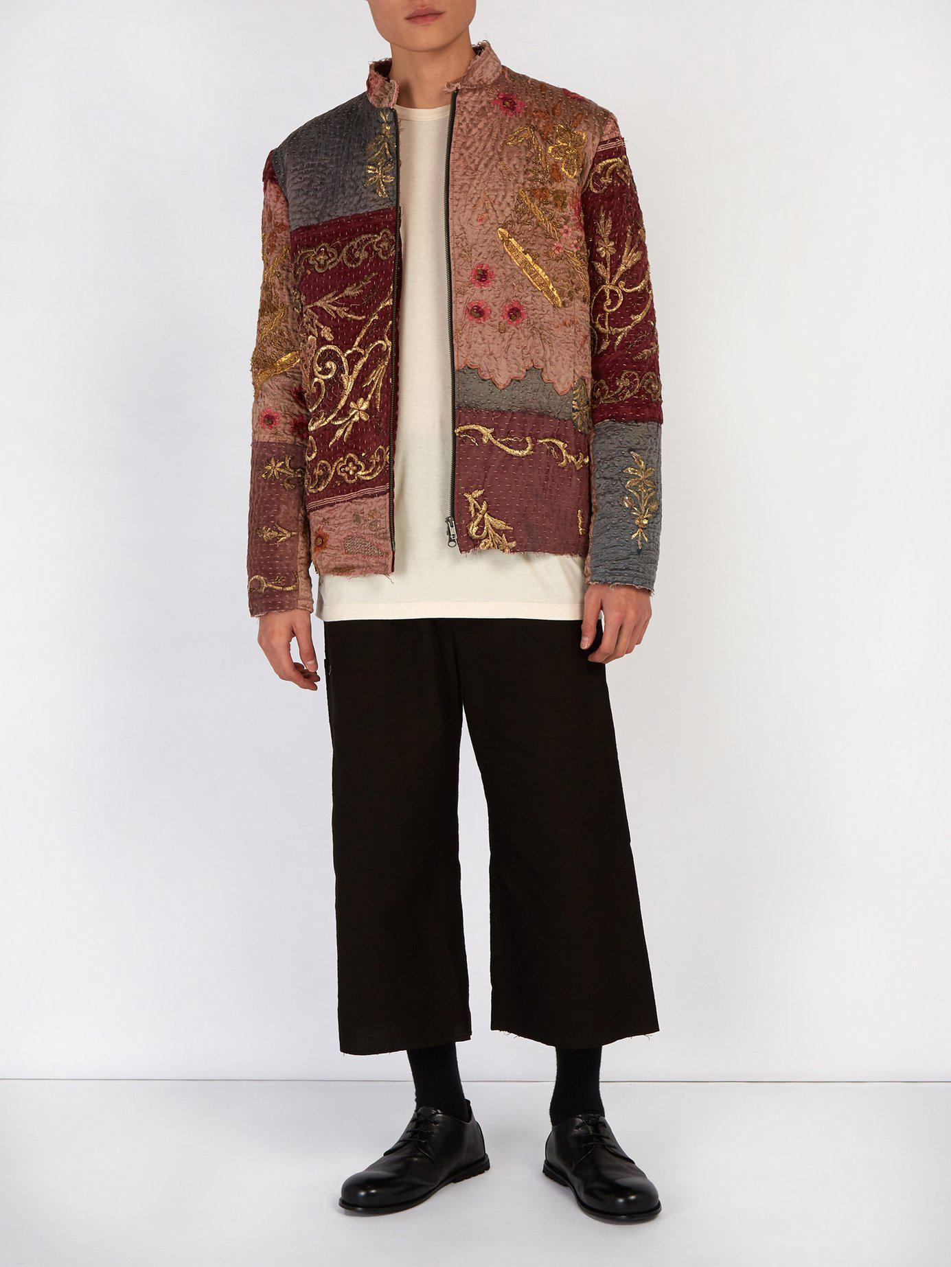 Lyst By Walid Ecclesiastical 18th Century Silk Panel Jacket For Men