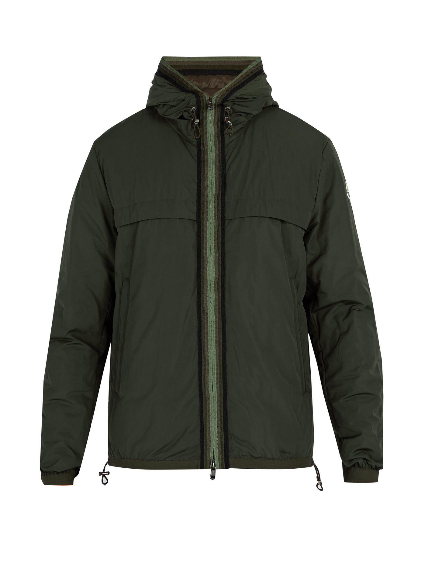 4df653592 Lyst - Moncler Nash Quilted Down Jacket in Green for Men