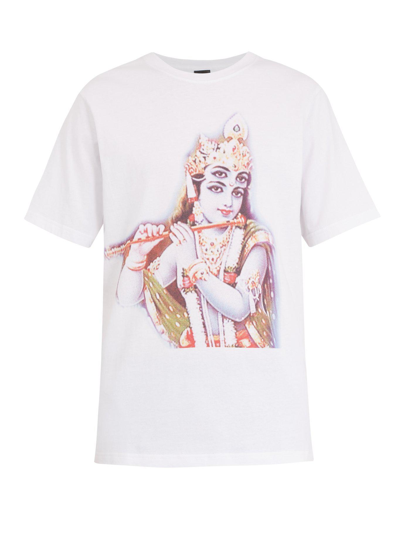 shirt T Coton Krishna Pam Imprim Lyst qBRTOgg