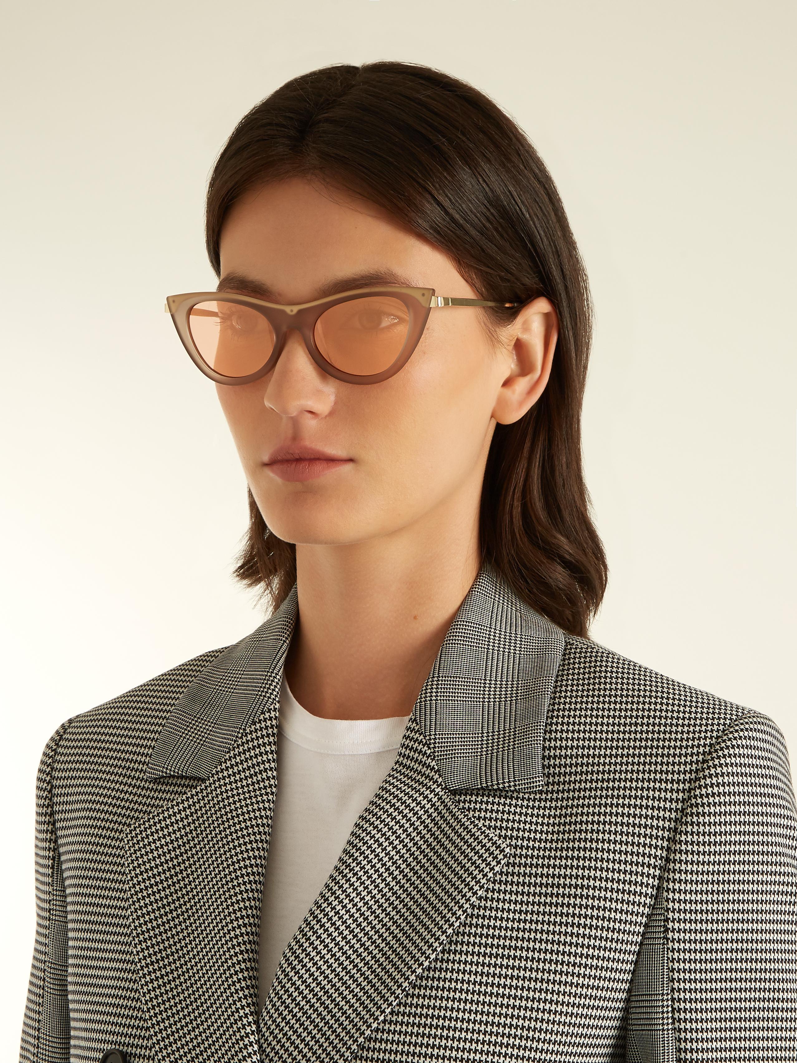 0dea406eb0e Gallery. Previously sold at  MATCHESFASHION.COM · Women s Cat Eye Sunglasses  ...