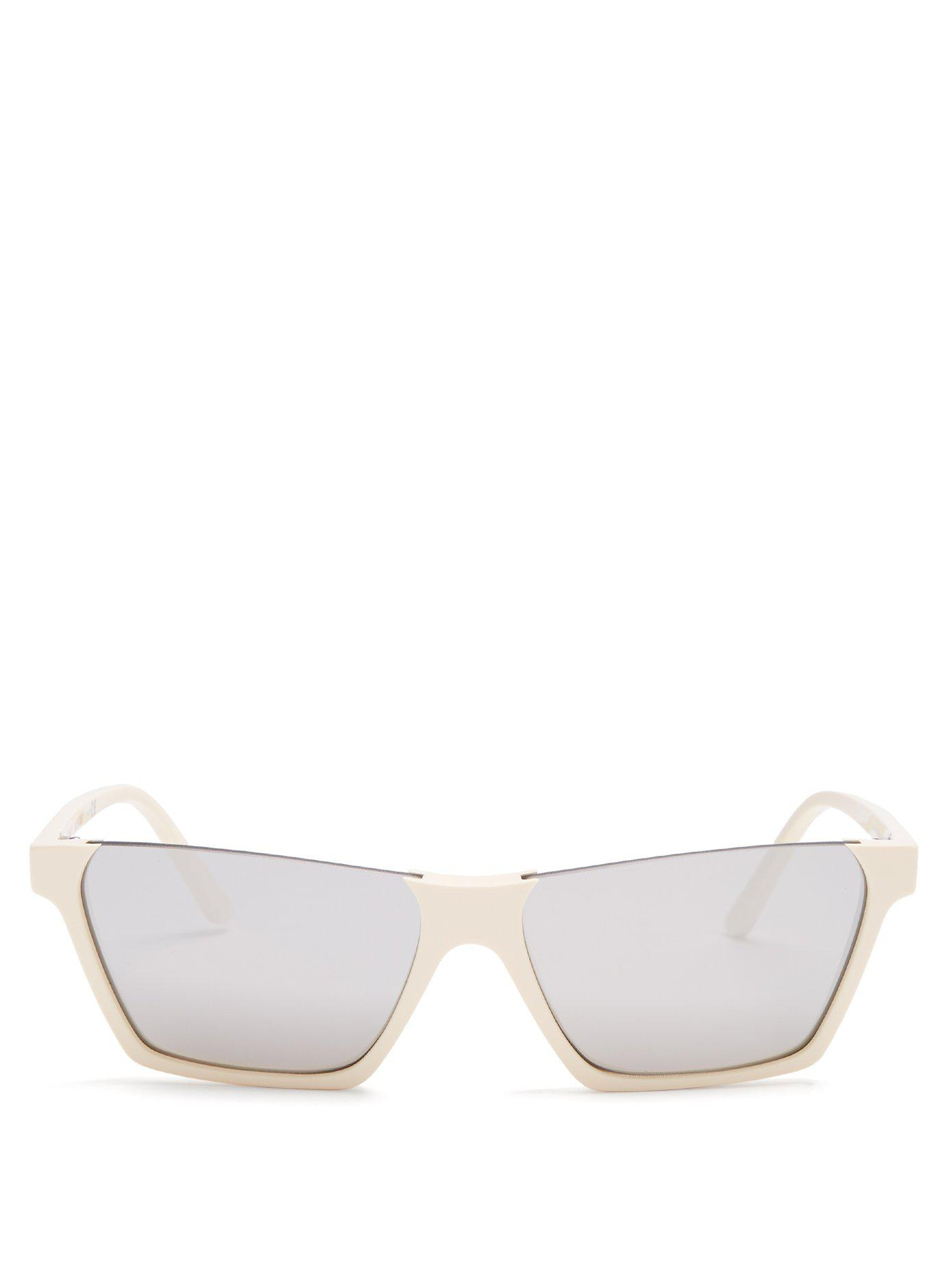 Rectangular-frame acetate sunglasses Celine EIwnx8bqh