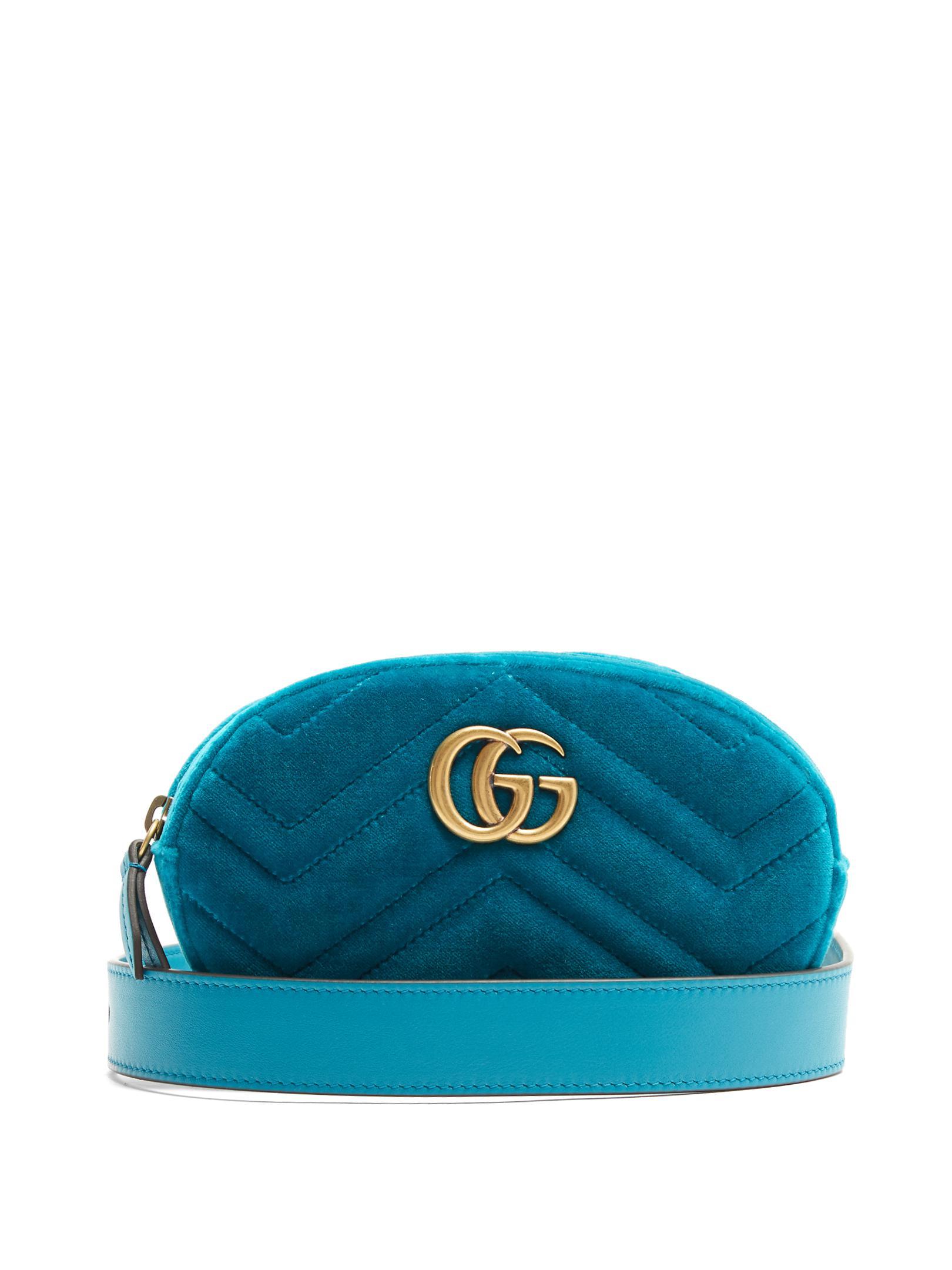 f2c7b994cb4d76 Gucci Belt Bag Velvet Blue | Stanford Center for Opportunity Policy ...