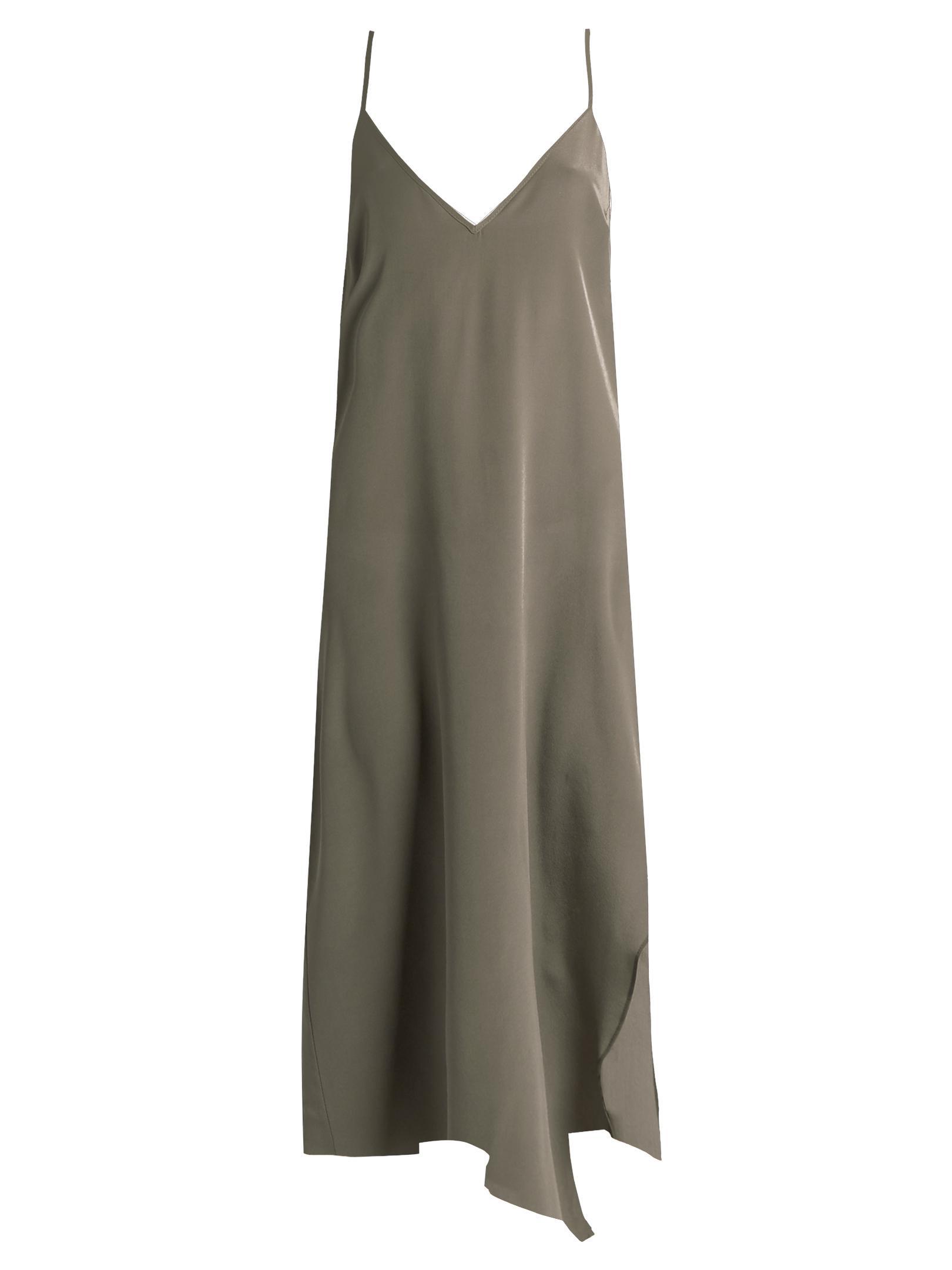 Asymmetric-hem maxi dress Raey Sale 6sD99oC